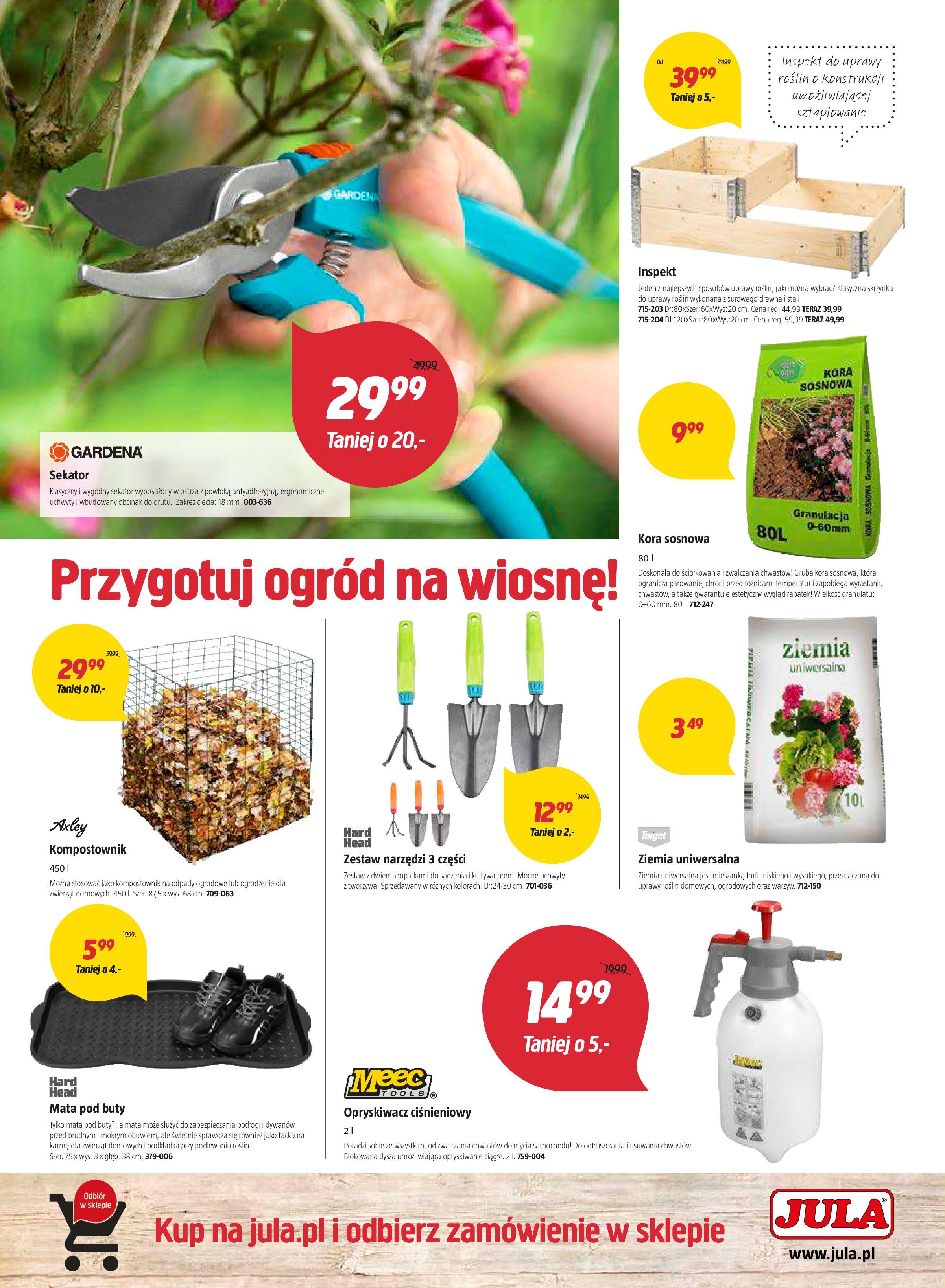 Gazetka Jula - Czas na wiosenne porządki!-06.03.2018-21.03.2018-page-