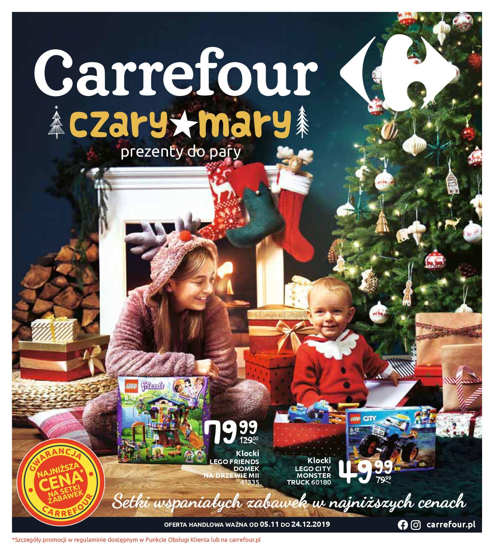 Gazetka Carrefour - Czary mary-03.11.2019-24.12.2019-page-1