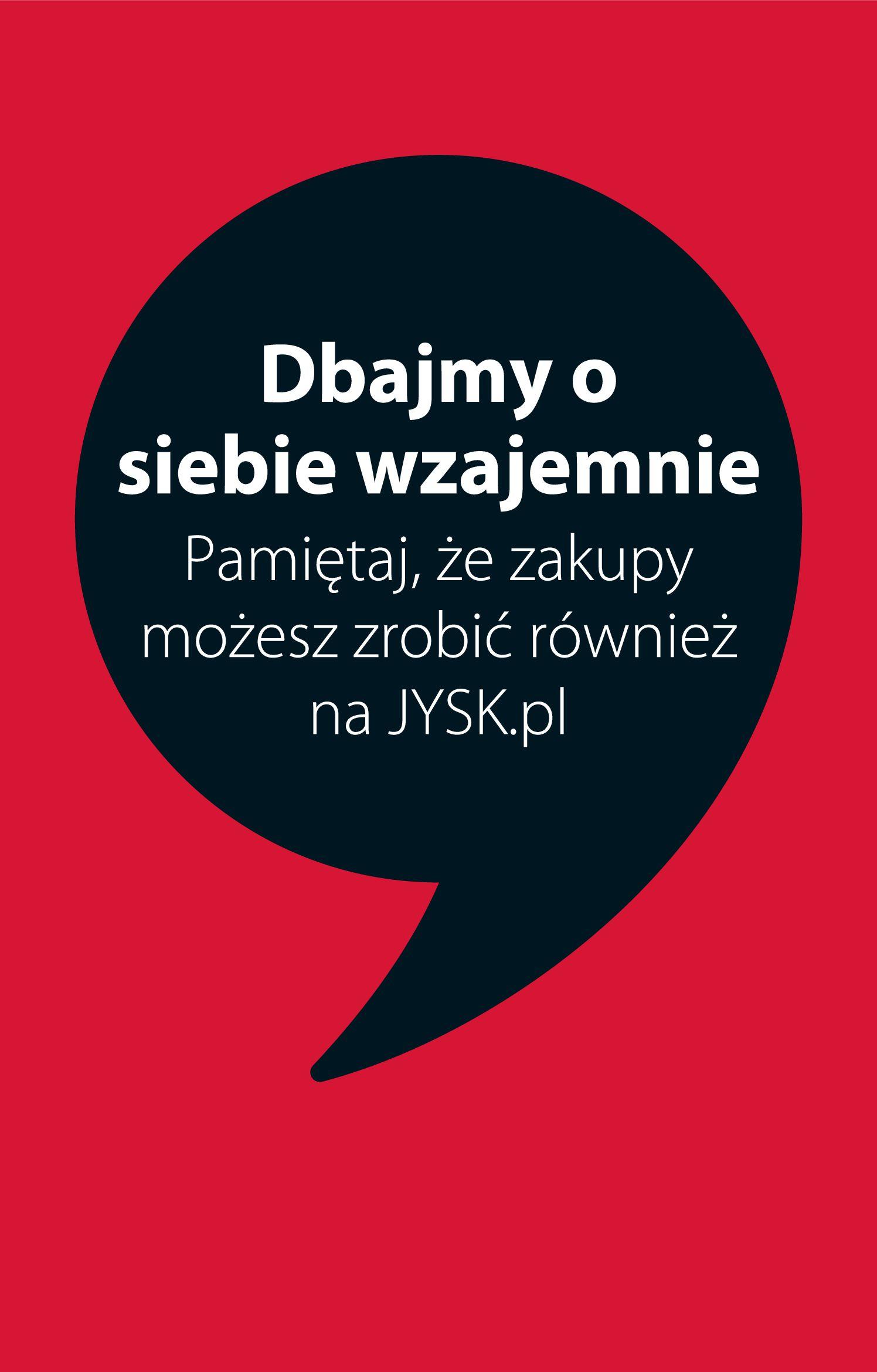 Gazetka Jysk: Gazetka promocyjna od 13.01 2021-01-13 page-1