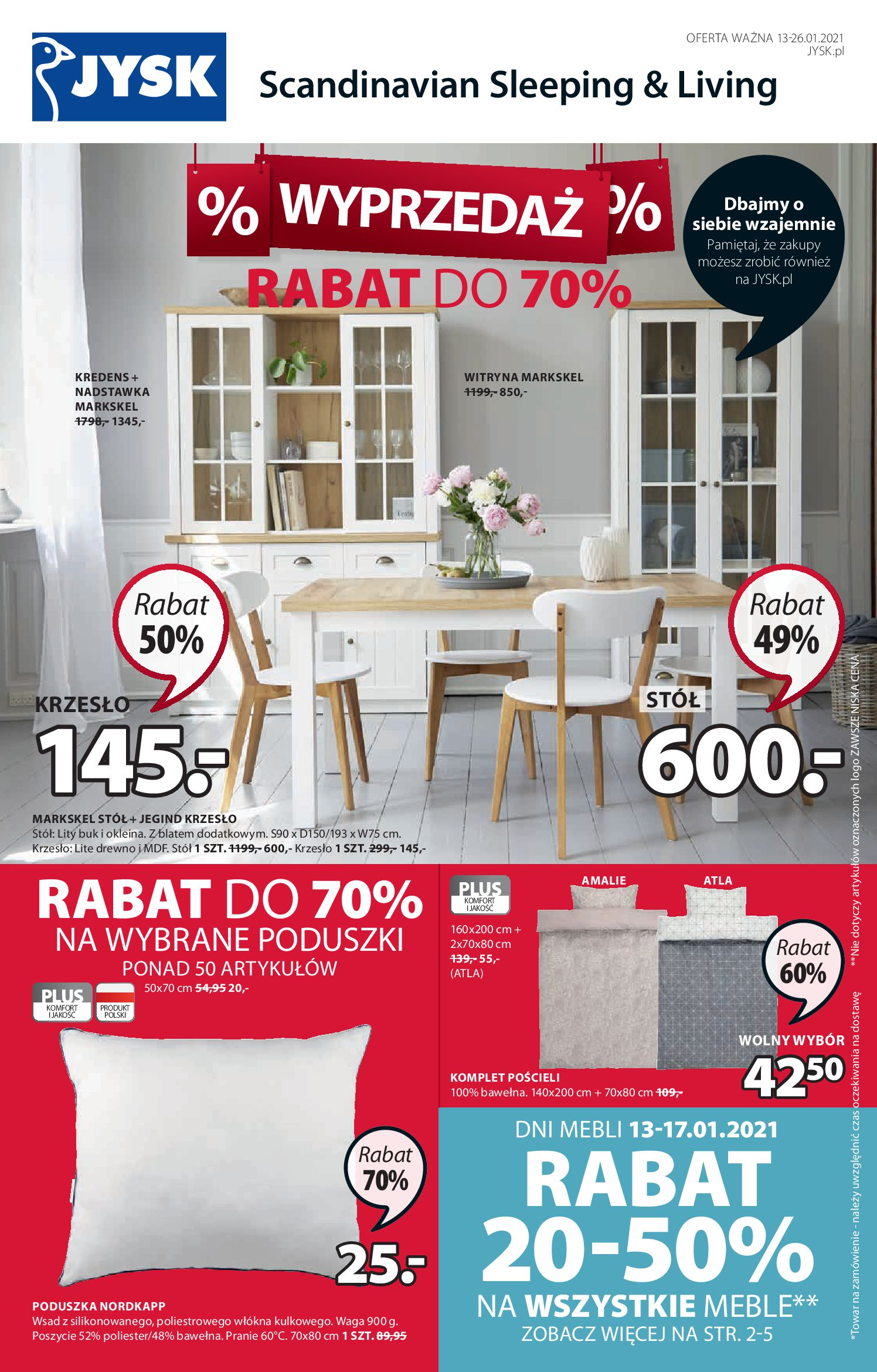 Gazetka Jysk: Gazetka promocyjna od 13.01 2021-01-13 page-2