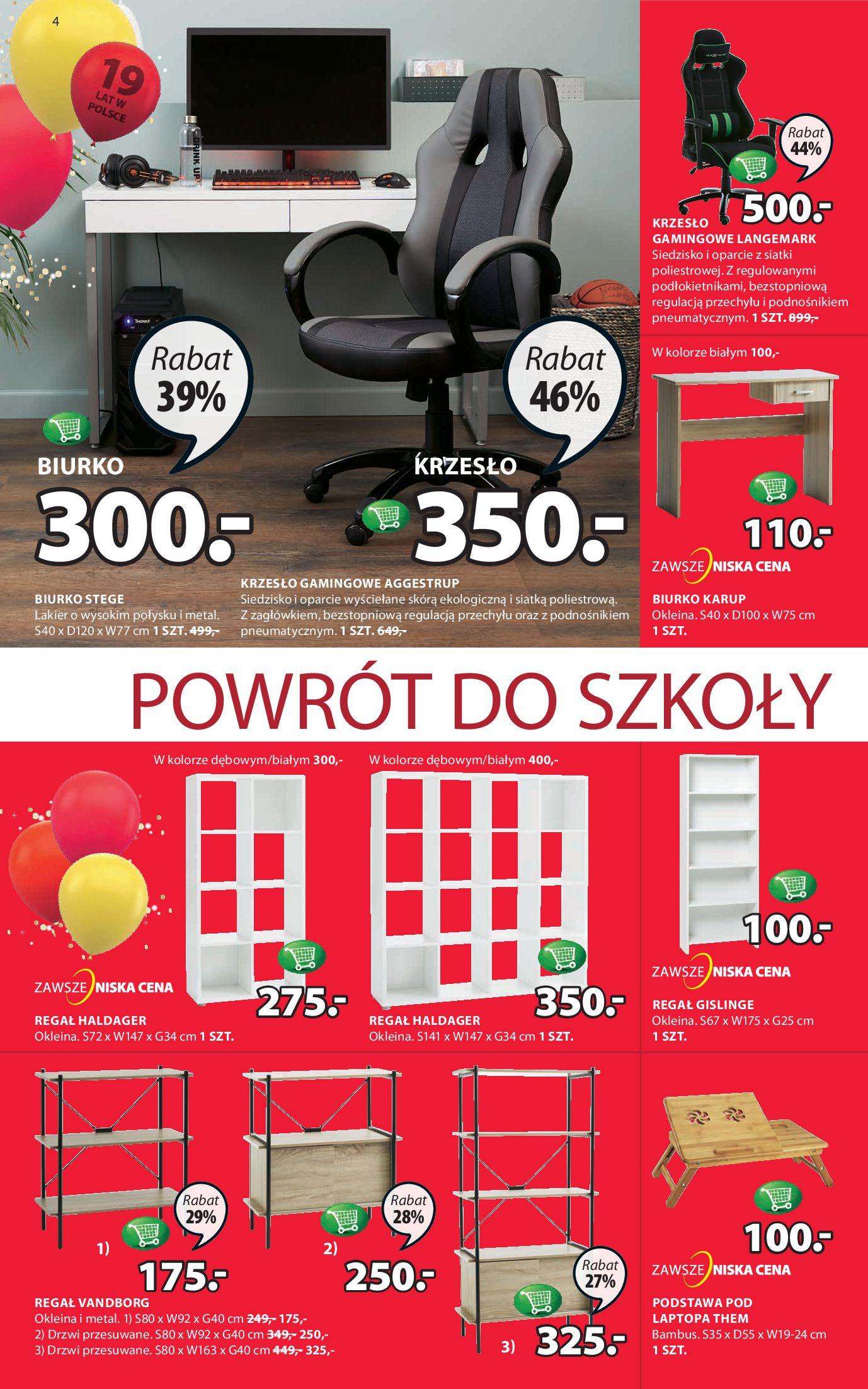 Gazetka Jysk - Oferta tygodnia-04.09.2019-18.09.2019-page-4