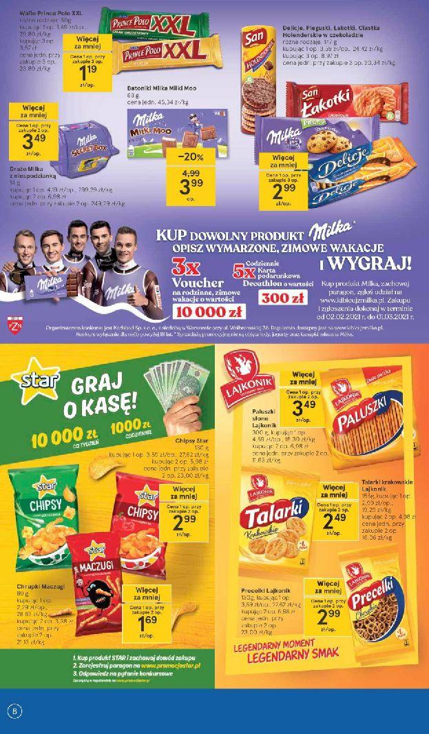 Gazetka Tesco: Gazetka promocyjna od 25.02 2021-02-25 page-8