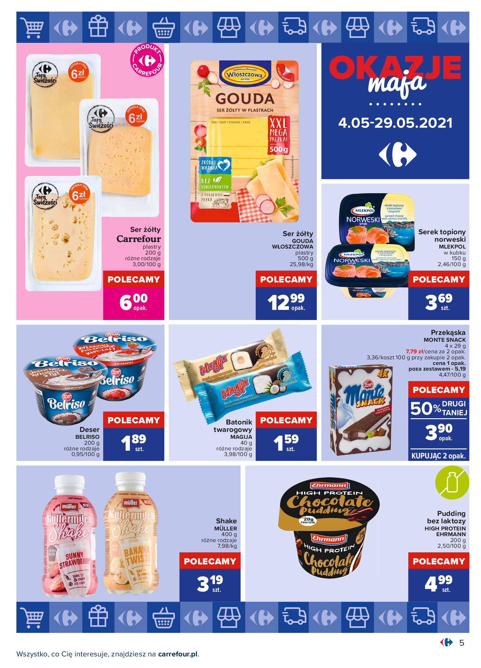 Gazetka Carrefour: Okazje maja 2021-05-04 page-5