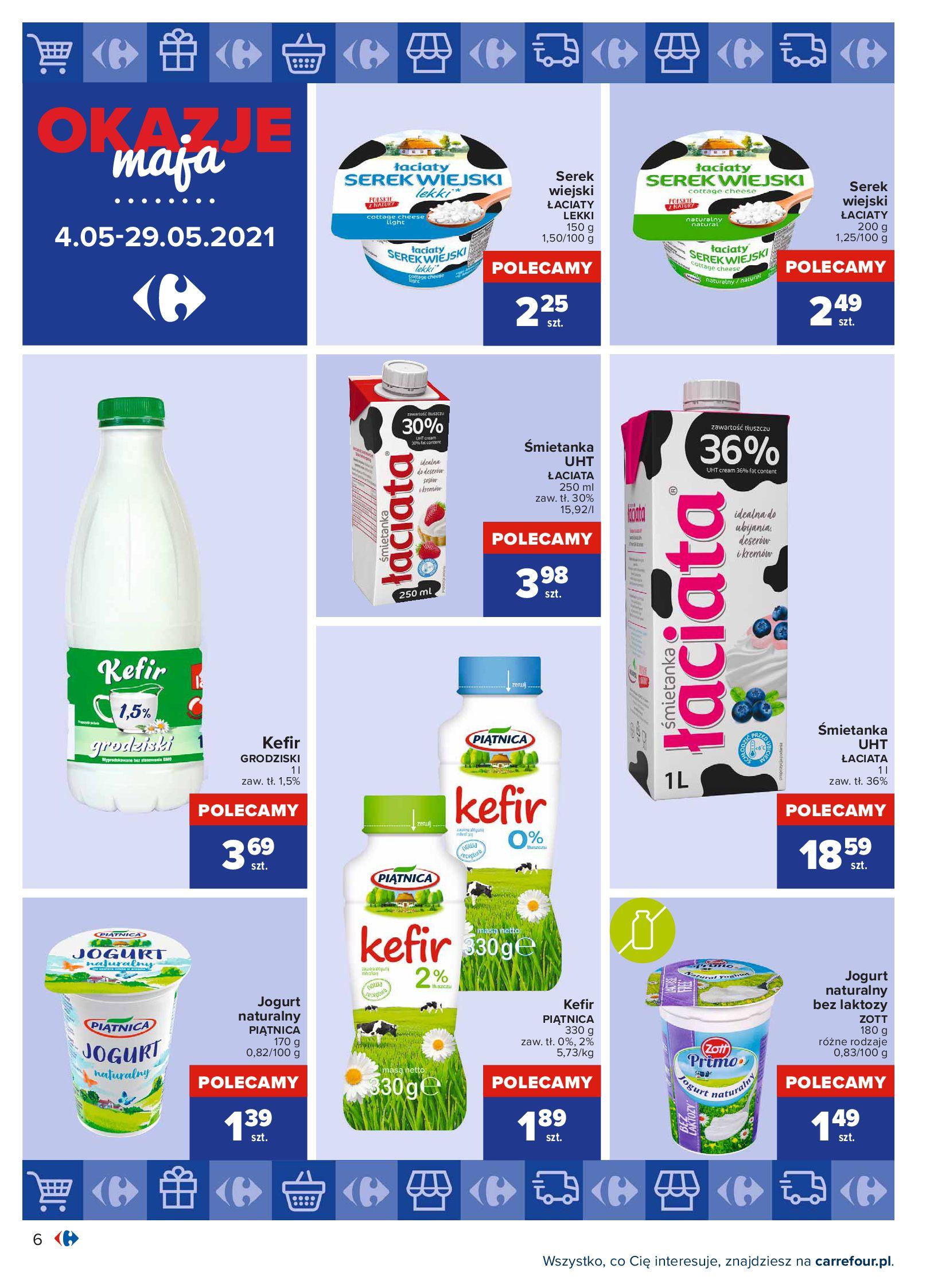 Gazetka Carrefour: Okazje maja 2021-05-04 page-6