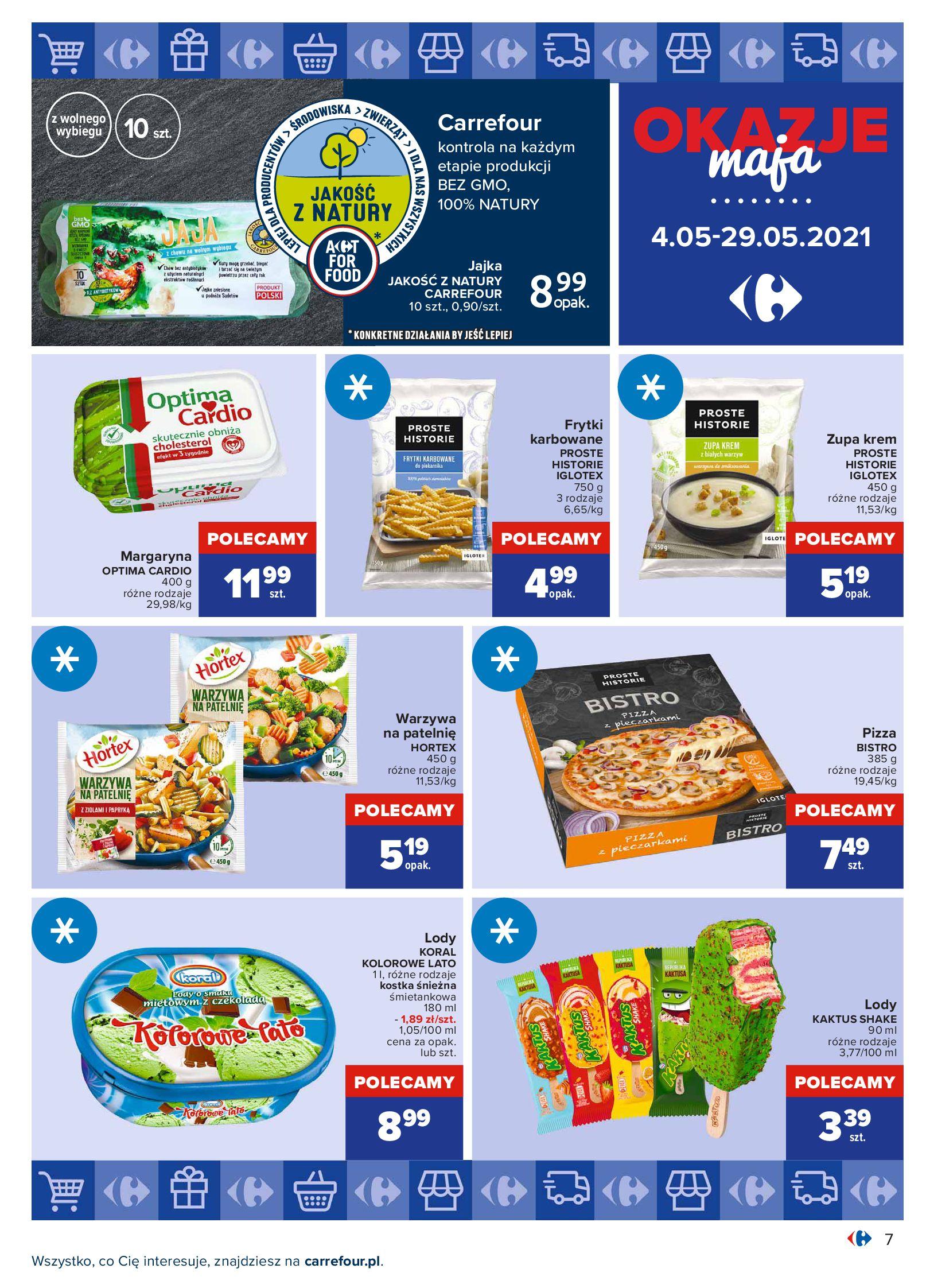 Gazetka Carrefour: Okazje maja 2021-05-04 page-7