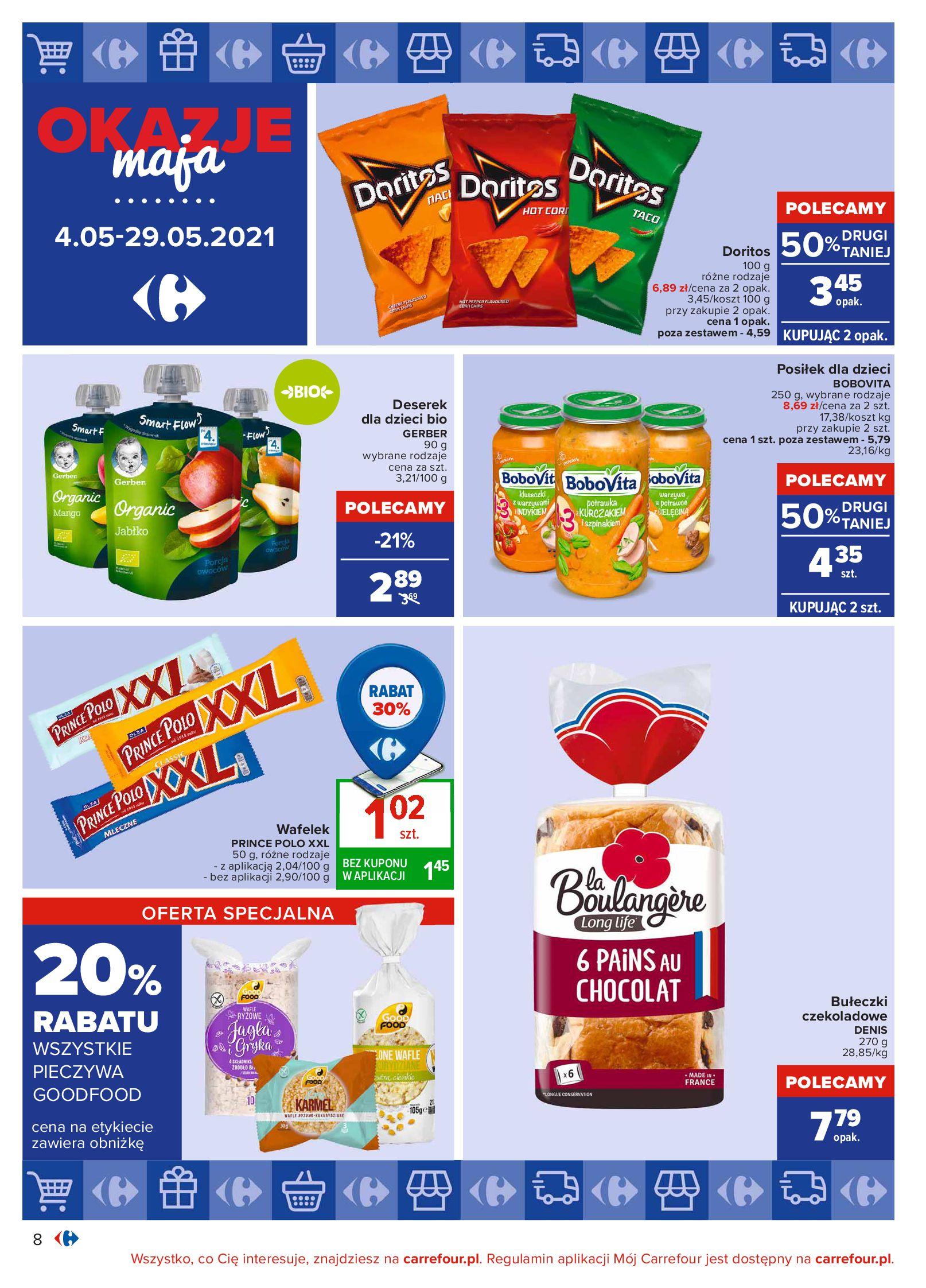 Gazetka Carrefour: Okazje maja 2021-05-04 page-8