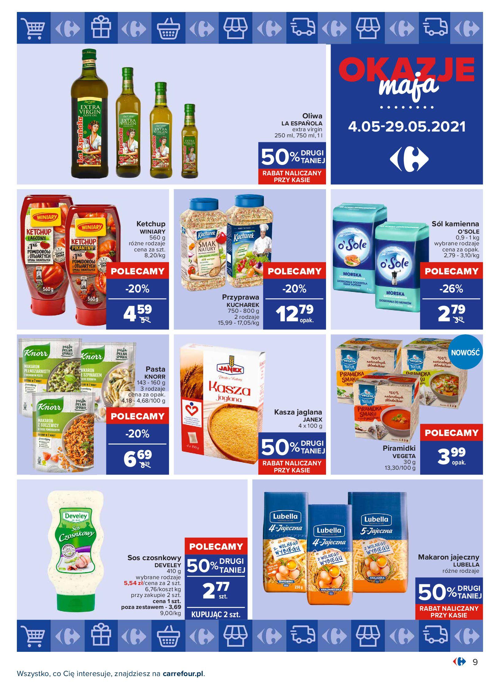 Gazetka Carrefour: Okazje maja 2021-05-04 page-9