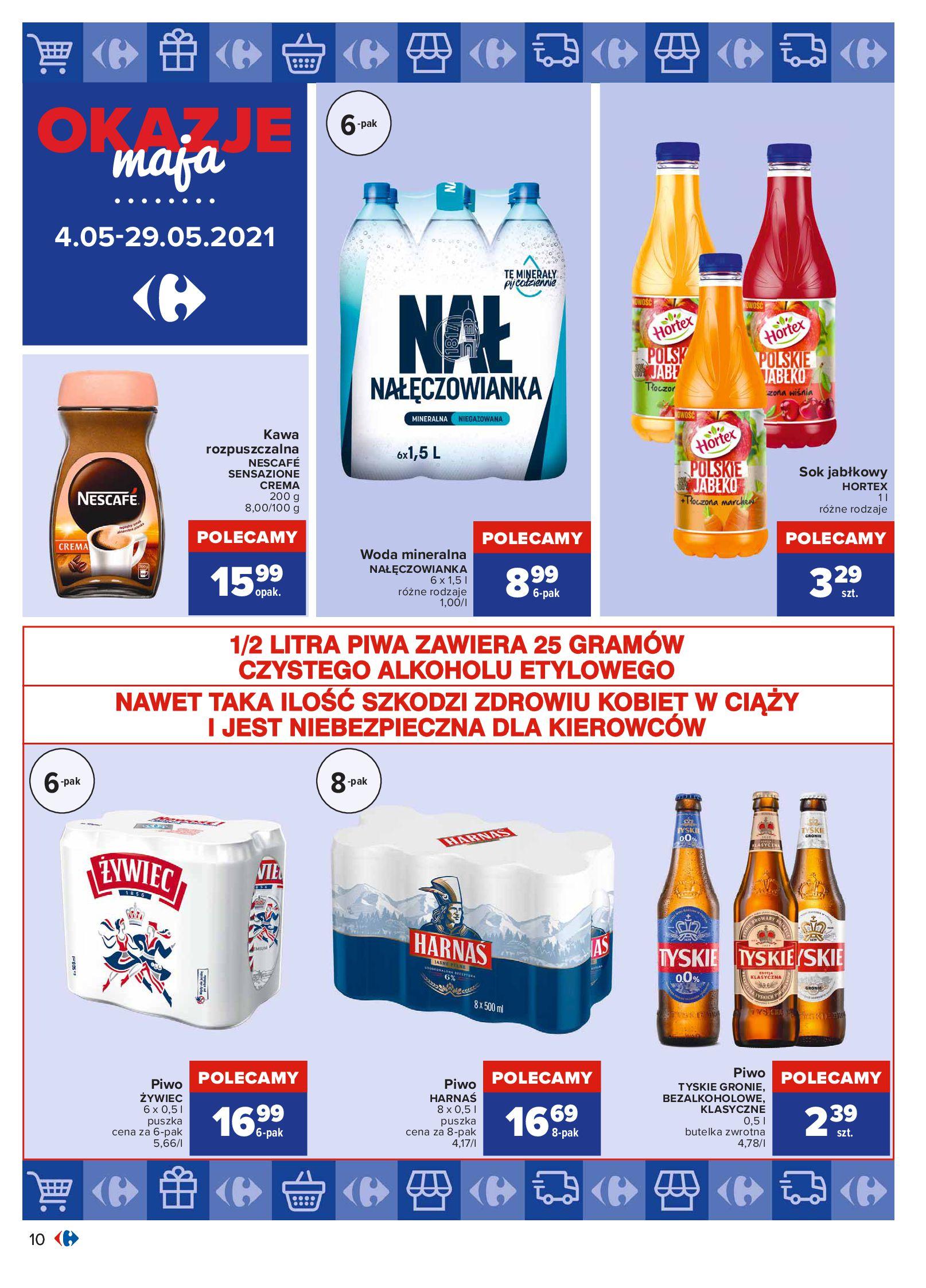 Gazetka Carrefour: Okazje maja 2021-05-04 page-10