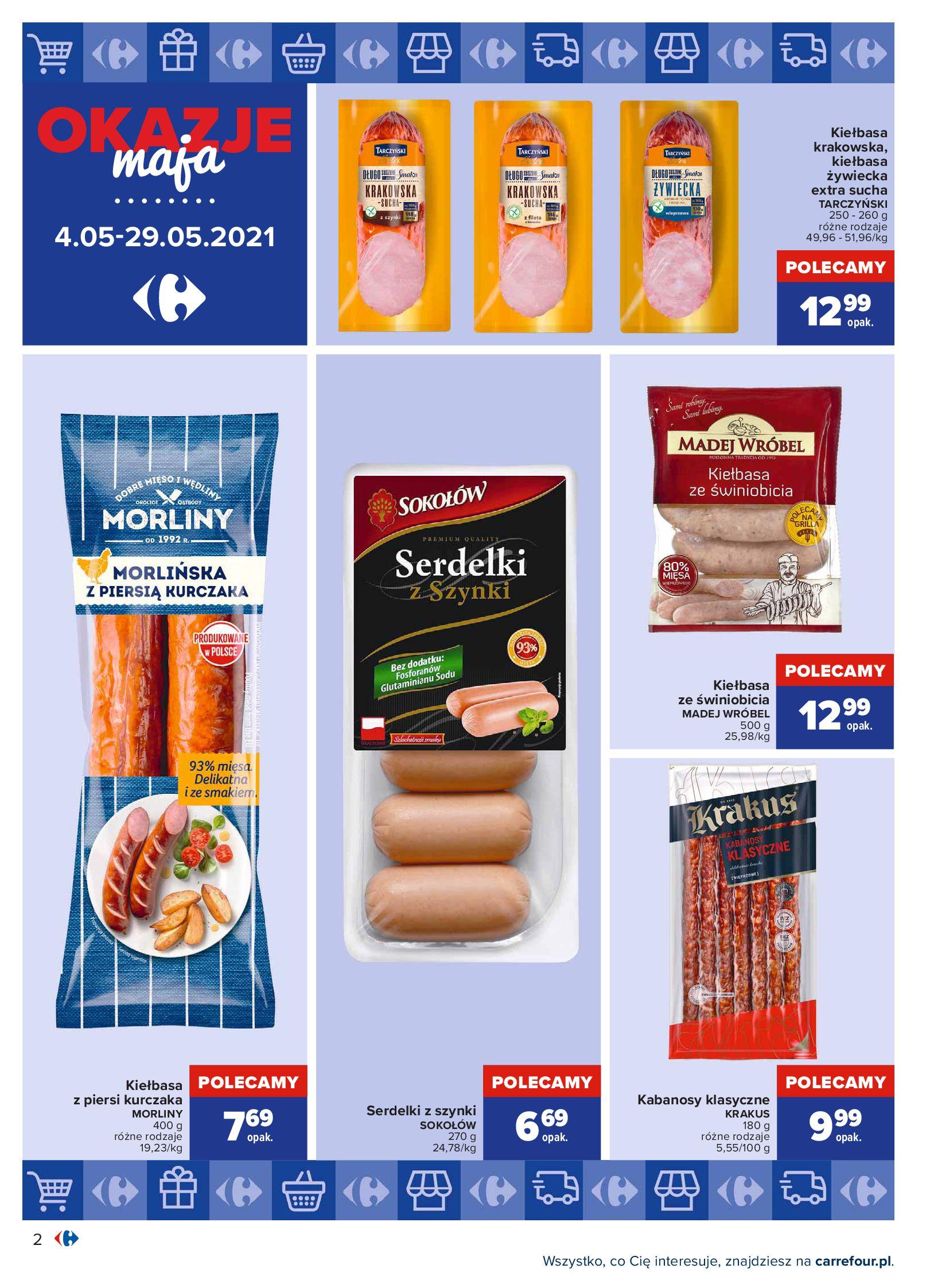 Gazetka Carrefour: Okazje maja 2021-05-04 page-2