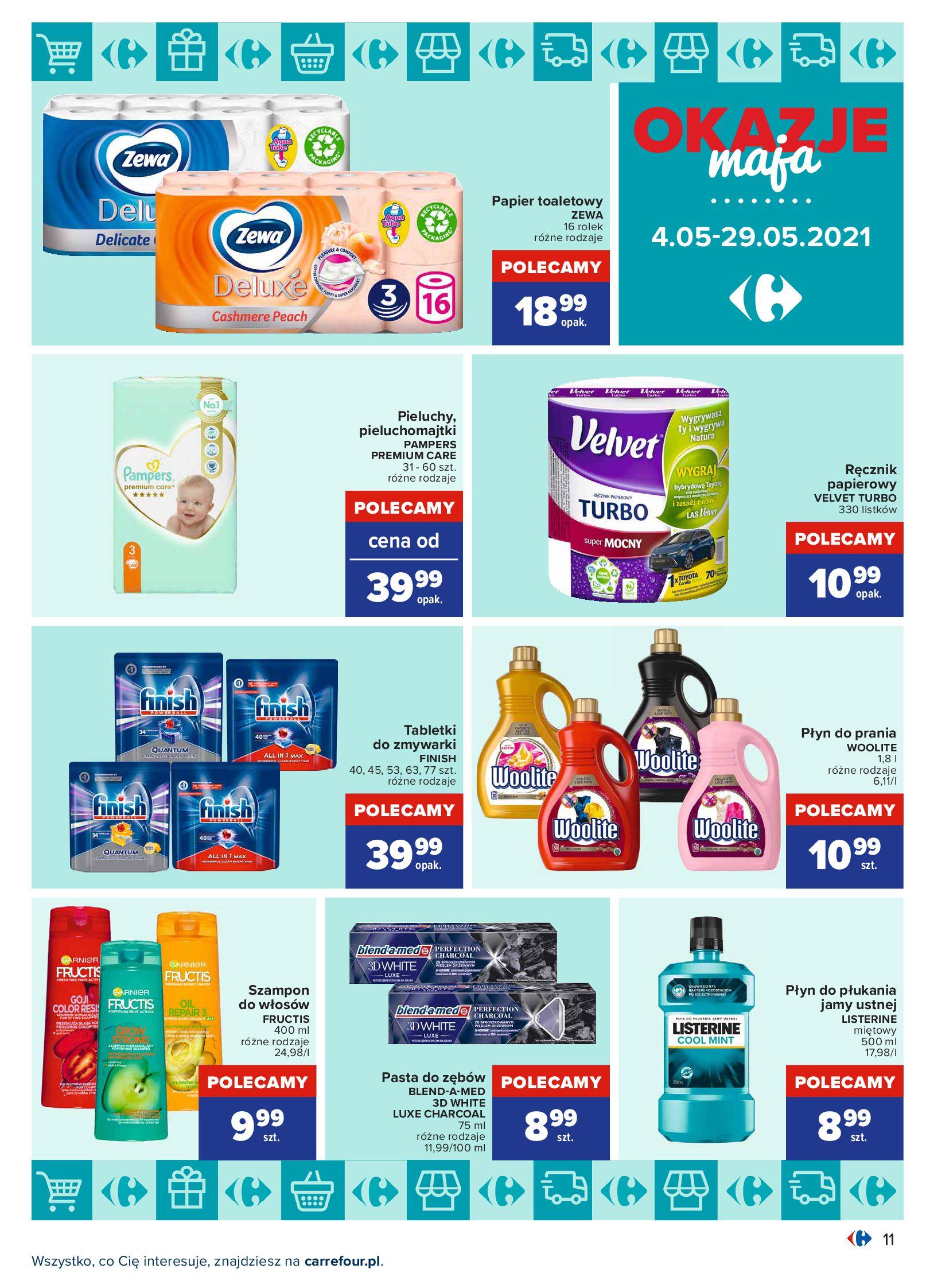 Gazetka Carrefour: Okazje maja 2021-05-04 page-11