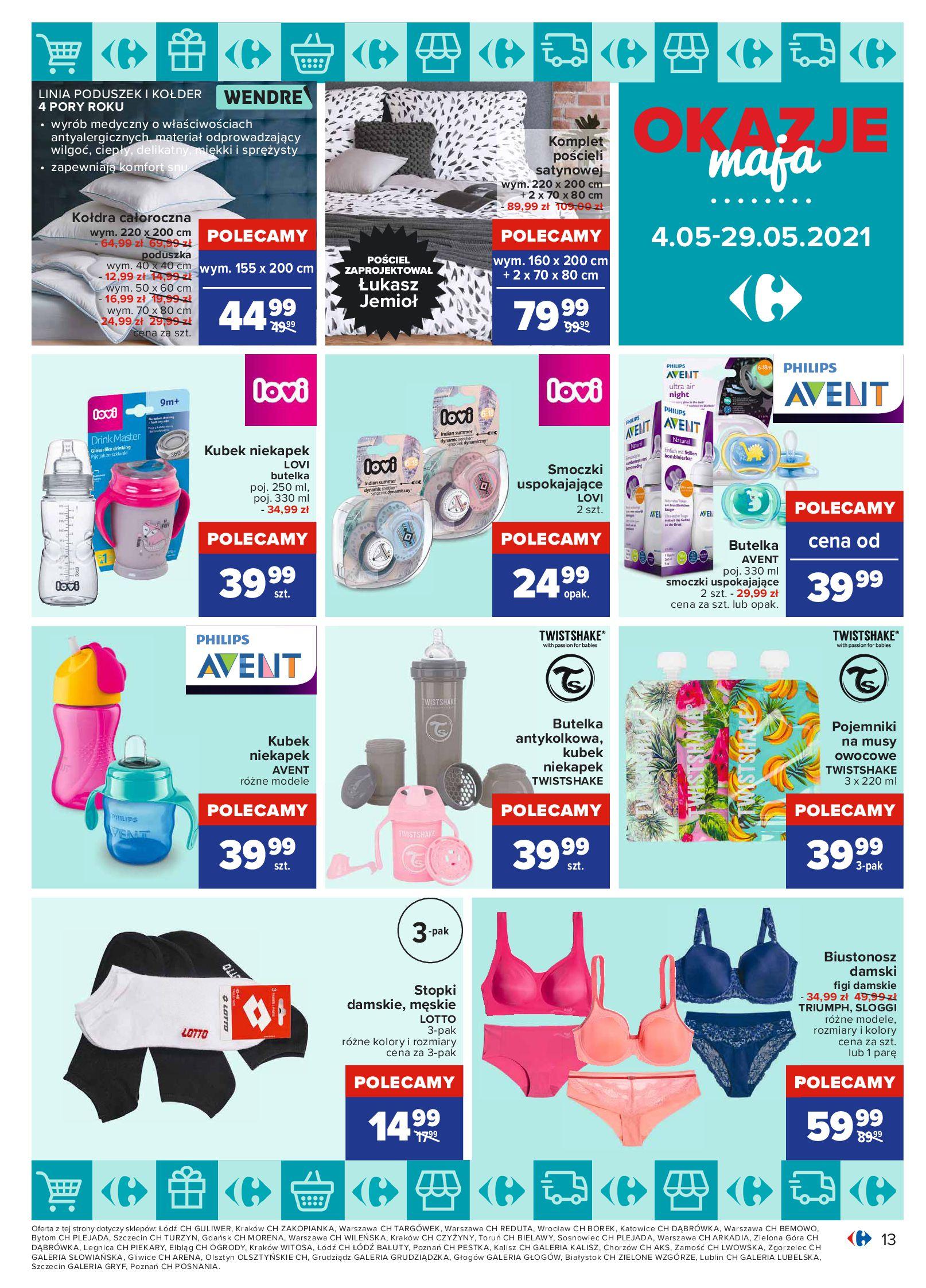 Gazetka Carrefour: Okazje maja 2021-05-04 page-13