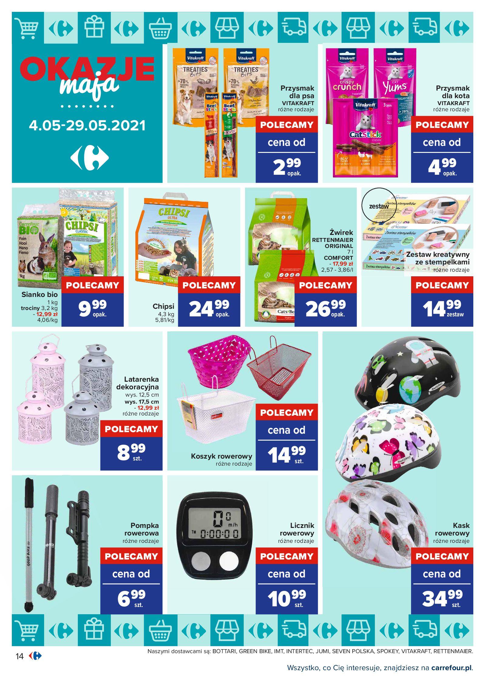 Gazetka Carrefour: Okazje maja 2021-05-04 page-14