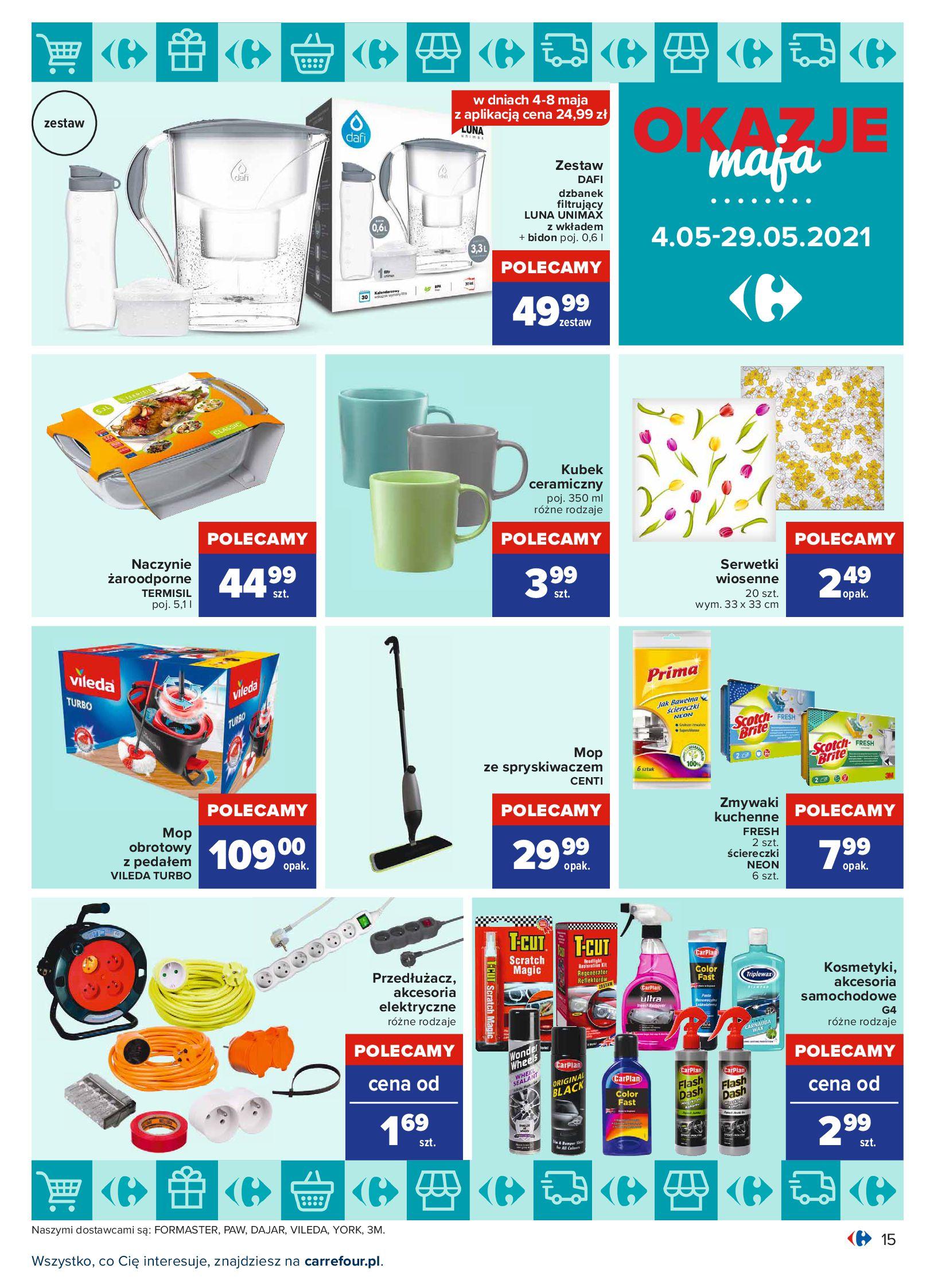 Gazetka Carrefour: Okazje maja 2021-05-04 page-15