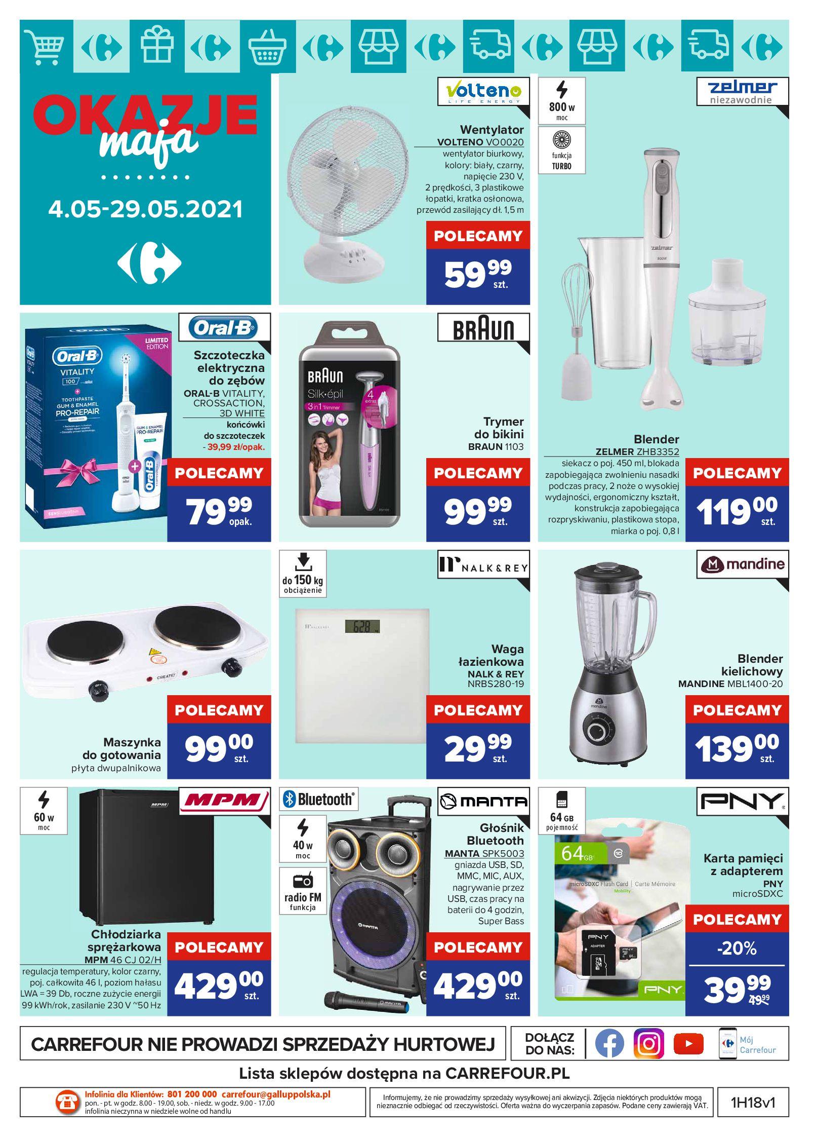 Gazetka Carrefour: Okazje maja 2021-05-04 page-16