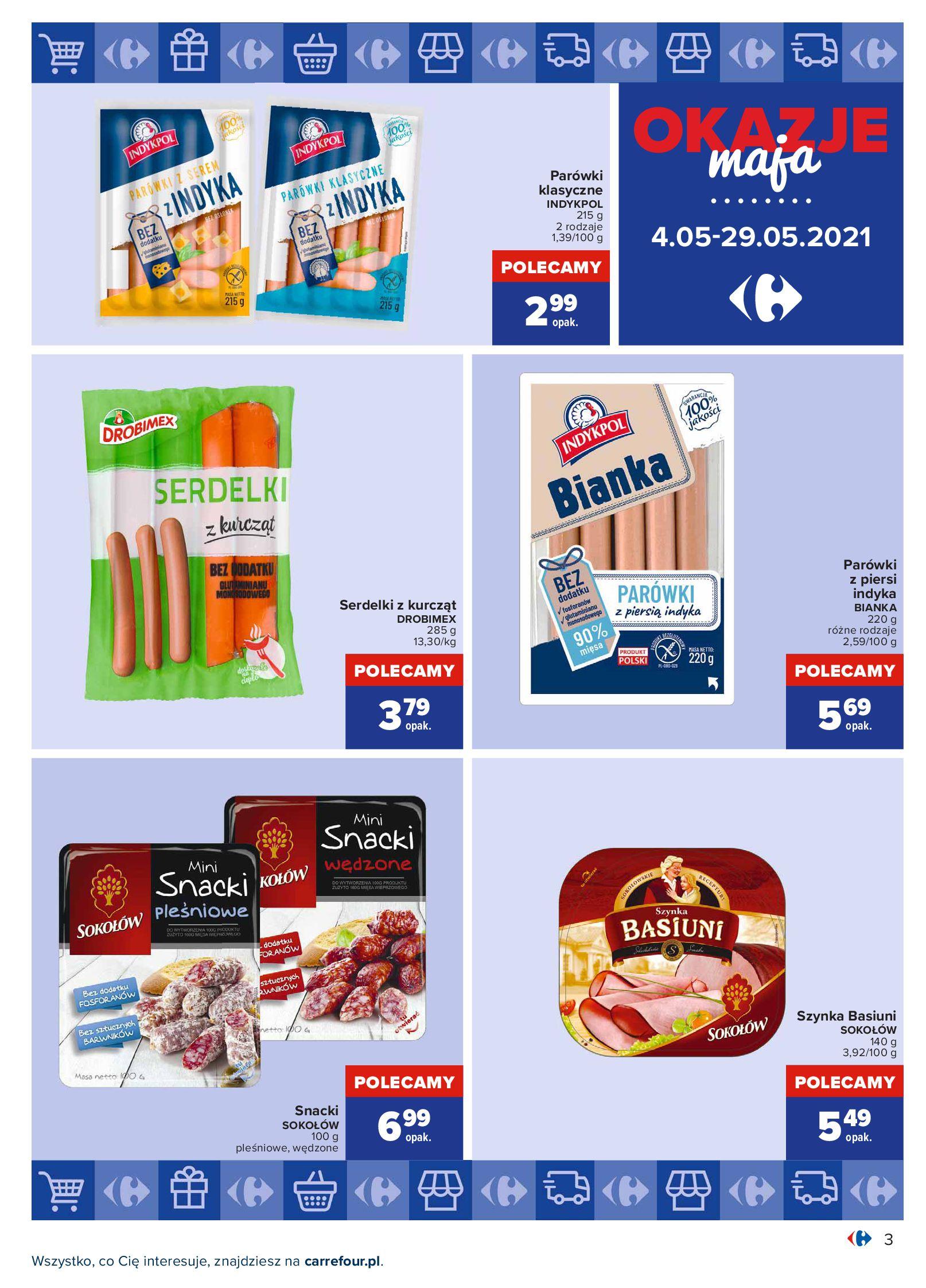 Gazetka Carrefour: Okazje maja 2021-05-04 page-3