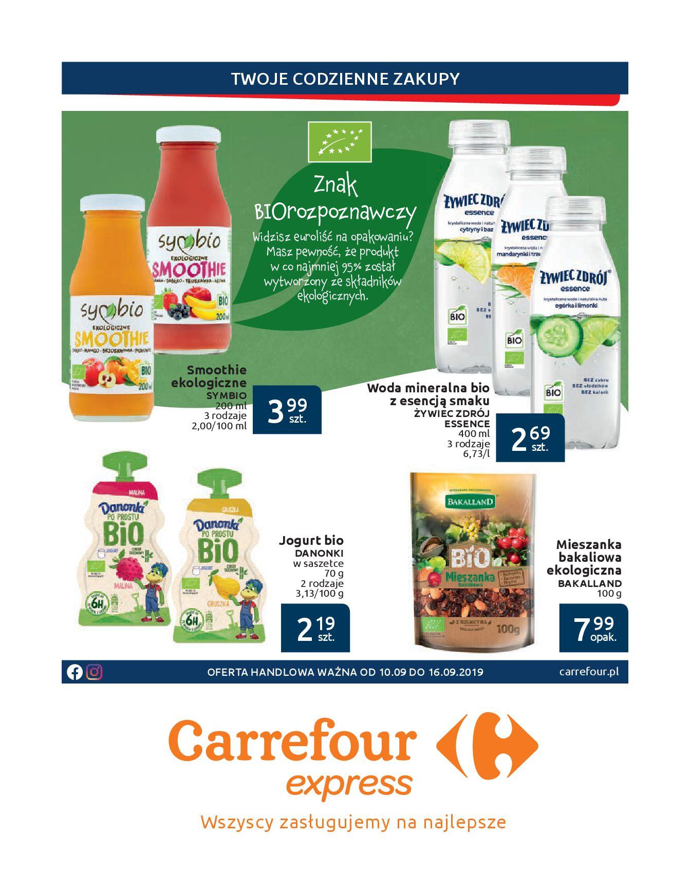 Gazetka Carrefour Express - Twoje codzienne zakupy-09.09.2019-16.09.2019-page-2