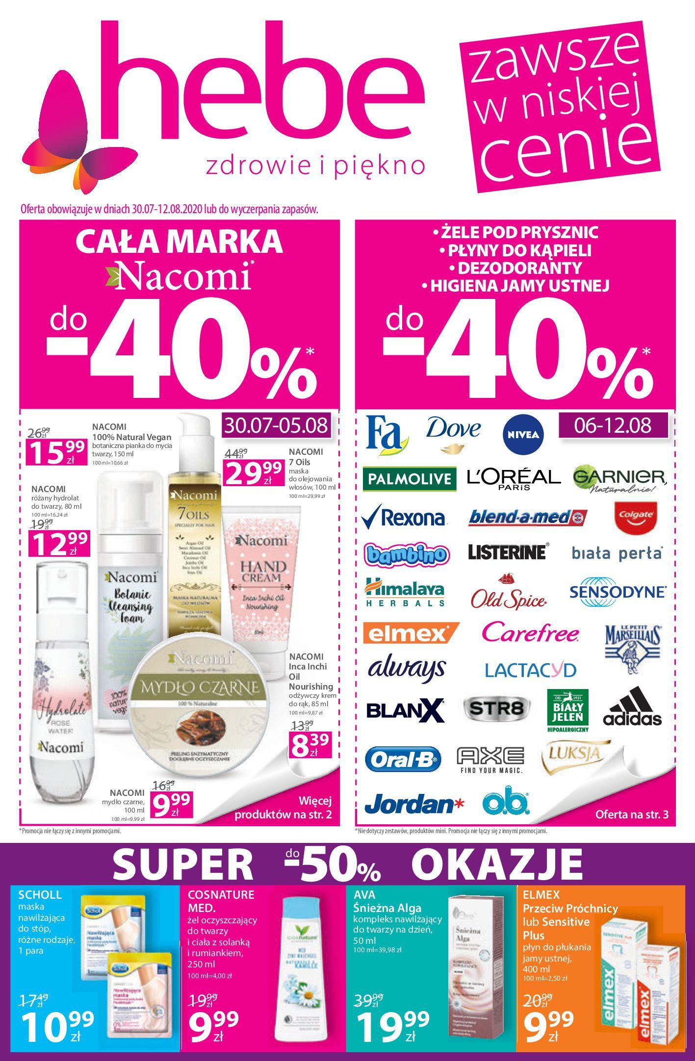 Gazetka hebe - Gazetka promocyjna-29.07.2020-12.08.2020-page-1