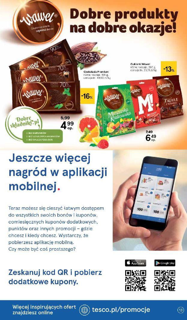 Gazetka Tesco - Oferta na art. spożywcze i kosmetyki-13.08.2019-21.08.2019-page-13
