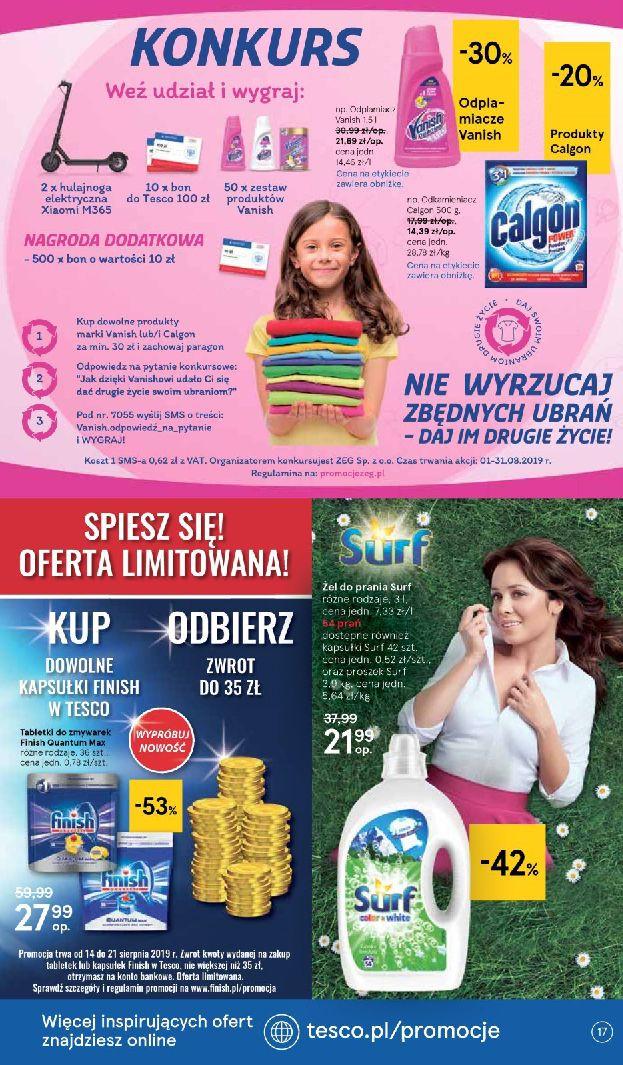 Gazetka Tesco - Oferta na art. spożywcze i kosmetyki-13.08.2019-21.08.2019-page-17