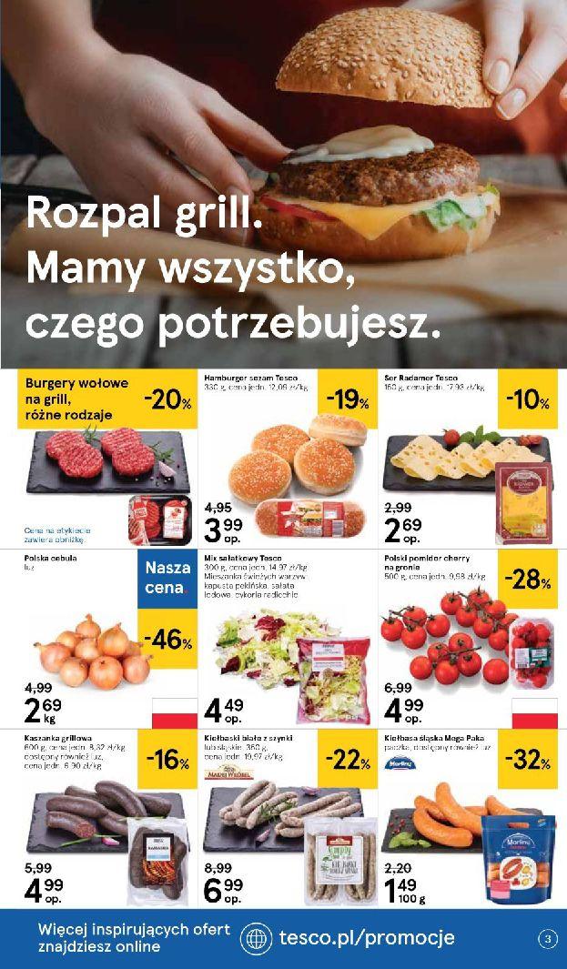 Gazetka Tesco - Oferta na art. spożywcze i kosmetyki-13.08.2019-21.08.2019-page-3