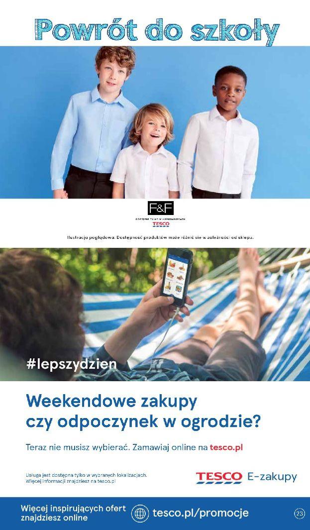 Gazetka Tesco - Oferta na art. spożywcze i kosmetyki-13.08.2019-21.08.2019-page-23