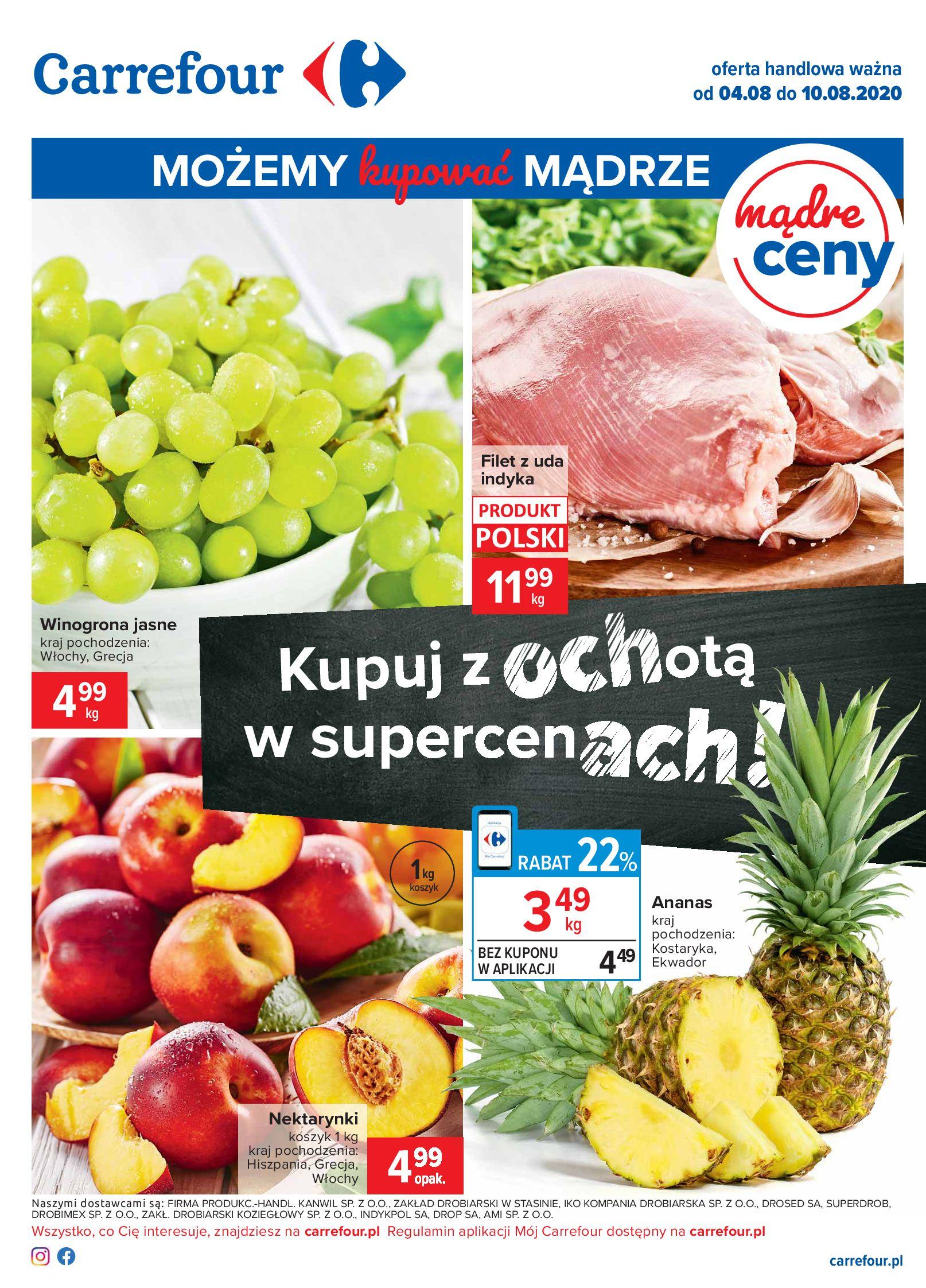 Gazetka Carrefour - Oferta handlowa-03.08.2020-10.08.2020-page-1