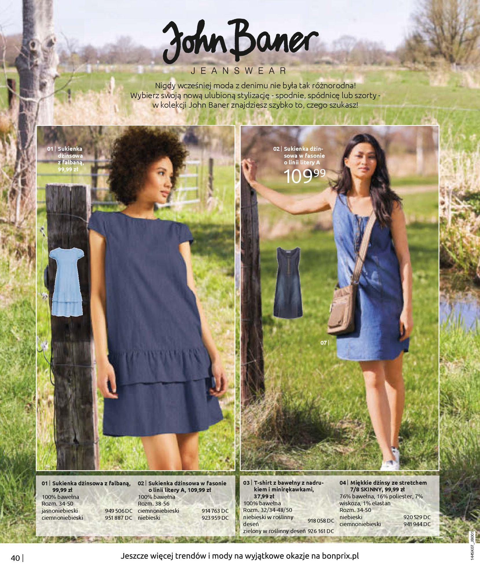 Gazetka Bonprix: Katalog Bonprix - Kwiatowe desenie 2021-09-09 page-42