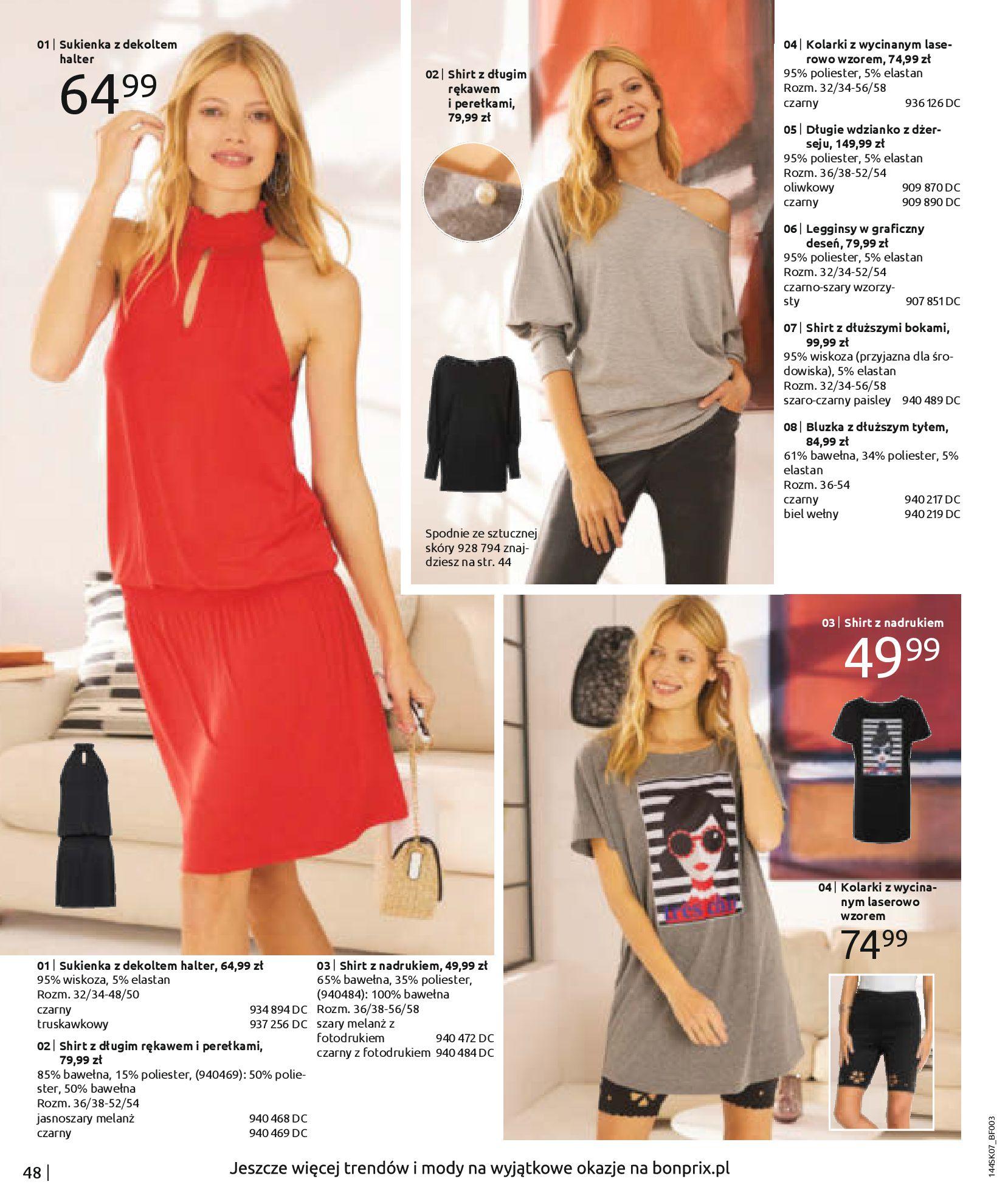 Gazetka Bonprix: Katalog Bonprix - Kwiatowe desenie 2021-09-09 page-50