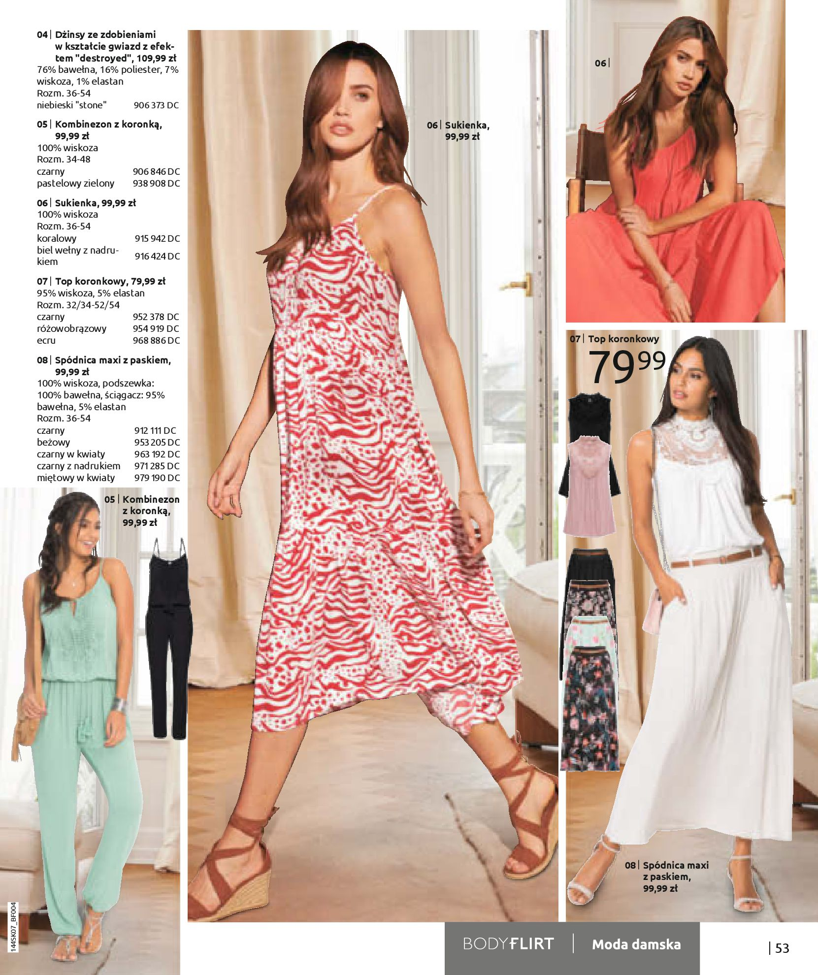 Gazetka Bonprix: Katalog Bonprix - Kwiatowe desenie 2021-09-09 page-55