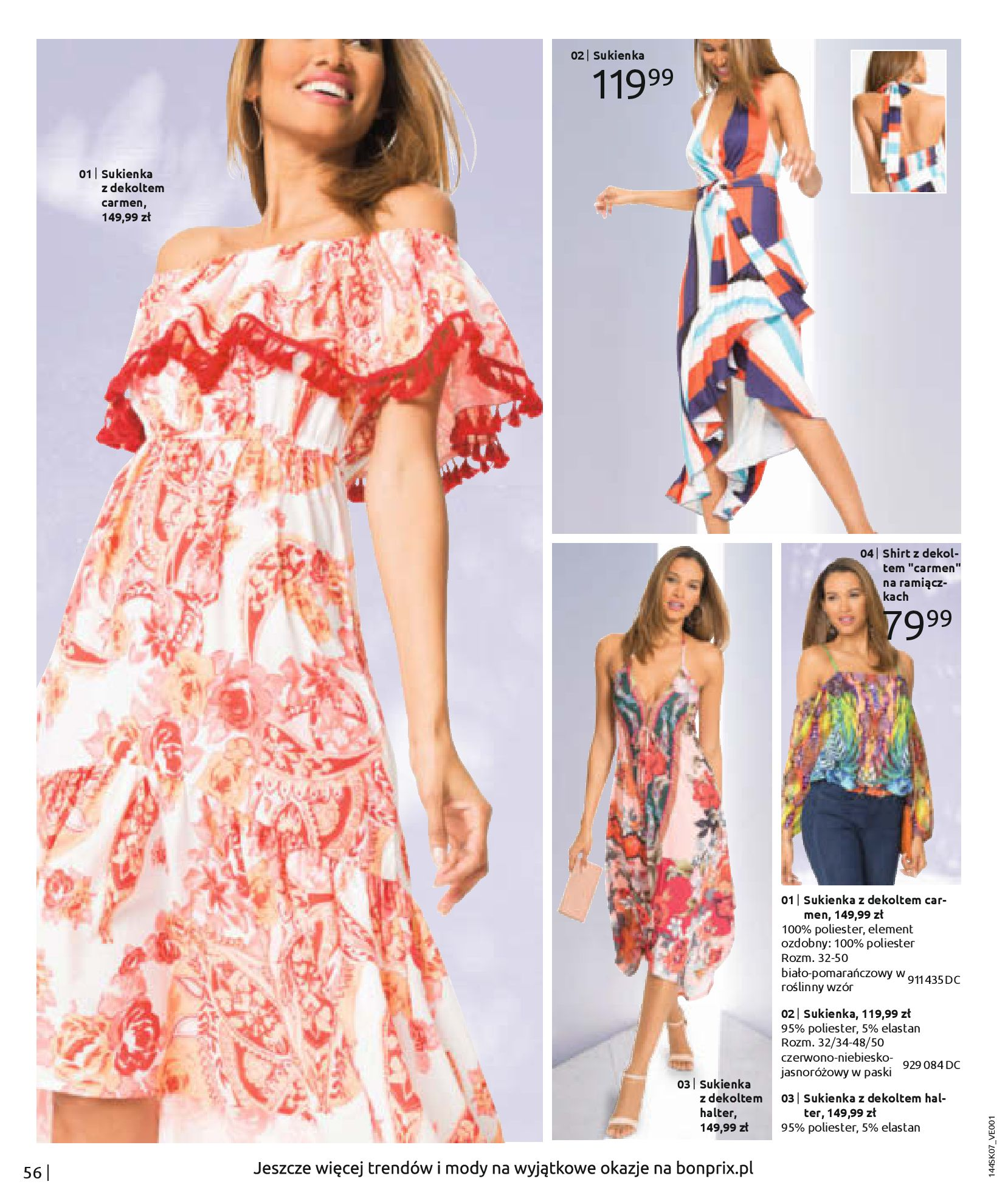 Gazetka Bonprix: Katalog Bonprix - Kwiatowe desenie 2021-09-09 page-58