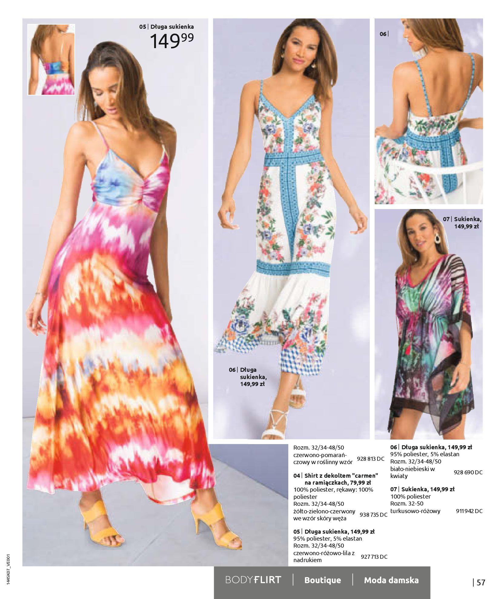 Gazetka Bonprix: Katalog Bonprix - Kwiatowe desenie 2021-09-09 page-59