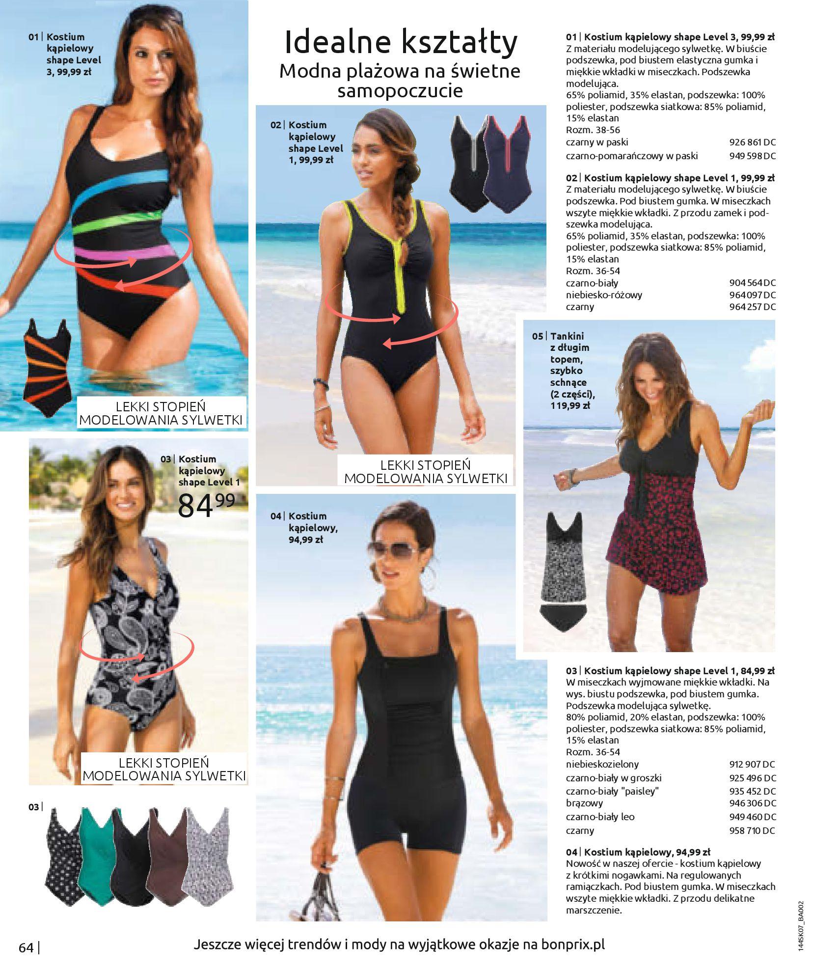 Gazetka Bonprix: Katalog Bonprix - Kwiatowe desenie 2021-09-09 page-66