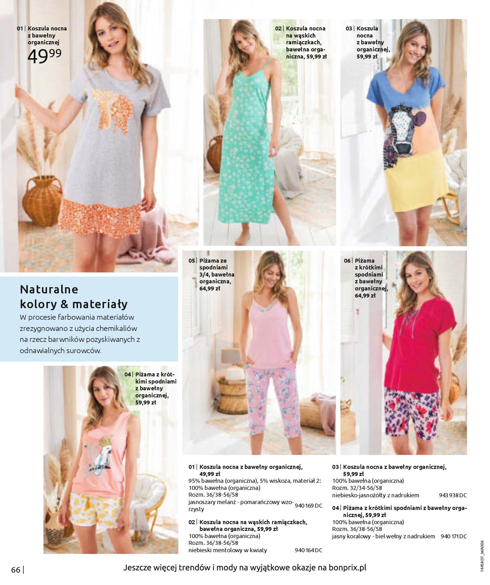 Gazetka Bonprix: Katalog Bonprix - Kwiatowe desenie 2021-09-09 page-68