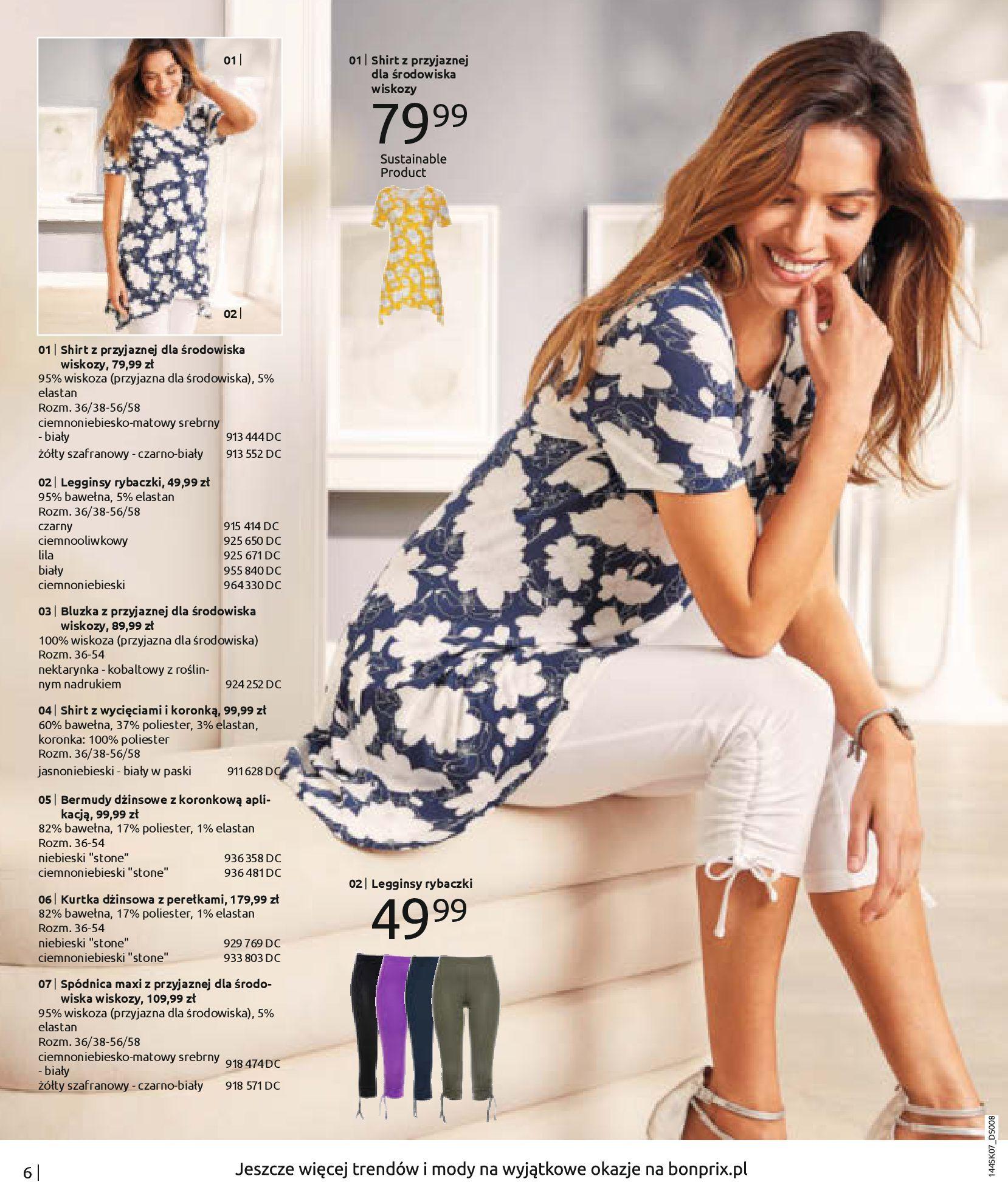 Gazetka Bonprix: Katalog Bonprix - Kwiatowe desenie 2021-09-09 page-8