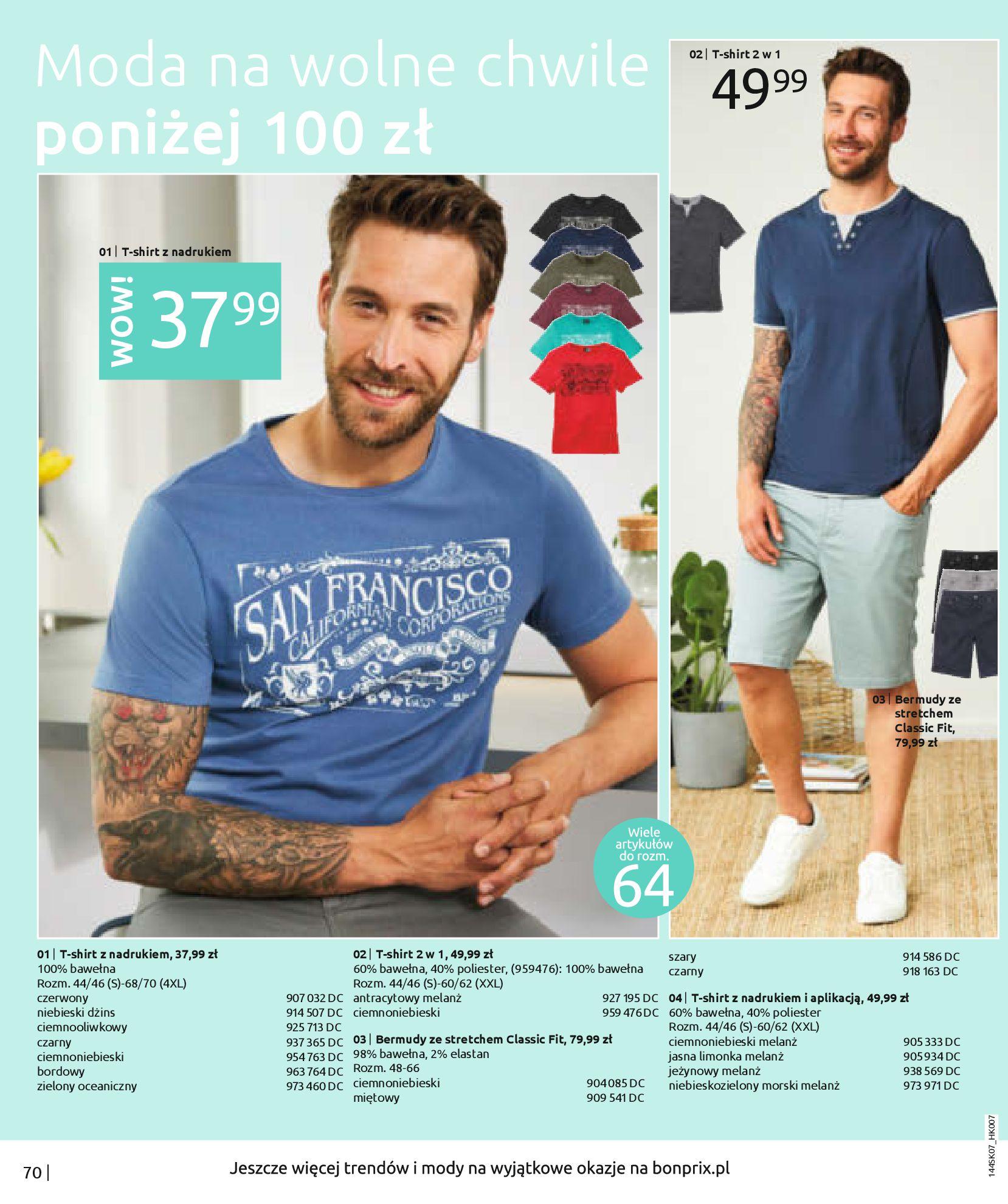 Gazetka Bonprix: Katalog Bonprix - Kwiatowe desenie 2021-09-09 page-72