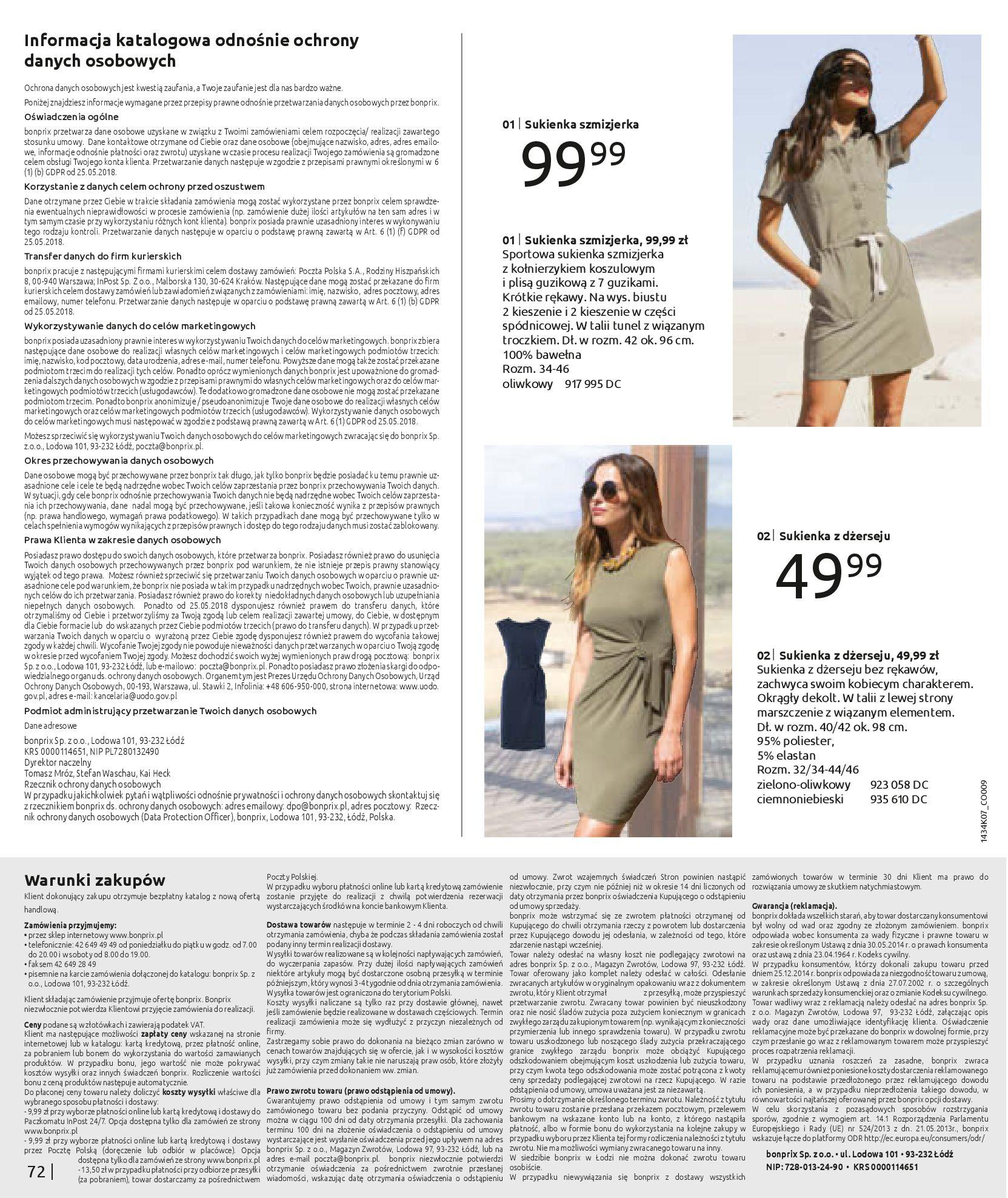 Gazetka Bonprix: Katalog Bonprix - Kwiatowe desenie 2021-09-09 page-74