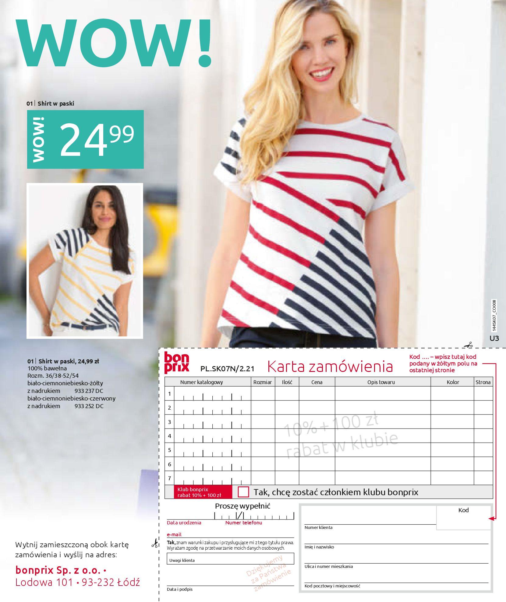 Gazetka Bonprix: Katalog Bonprix - Kwiatowe desenie 2021-09-09 page-75