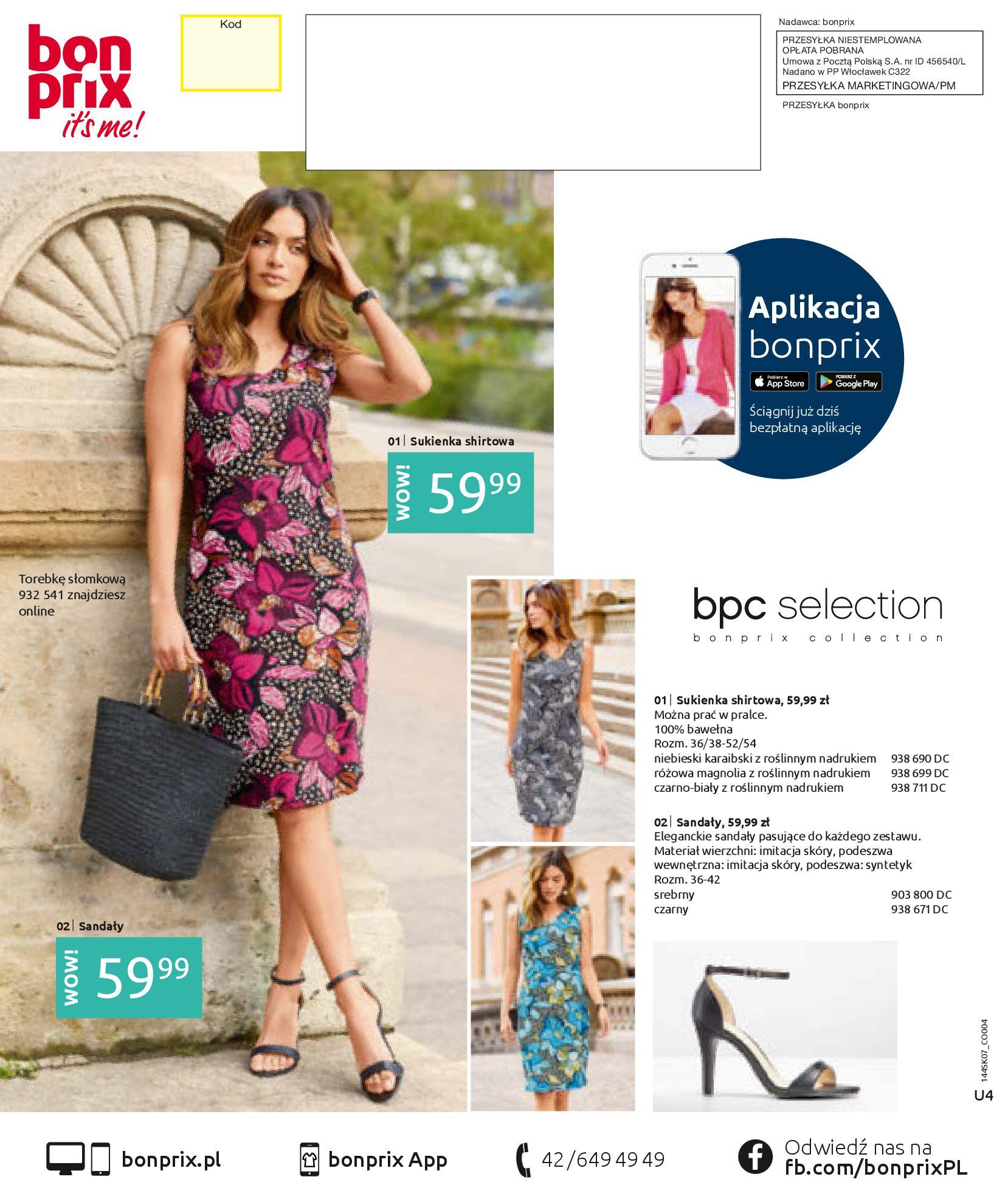 Gazetka Bonprix: Katalog Bonprix - Kwiatowe desenie 2021-09-09 page-76