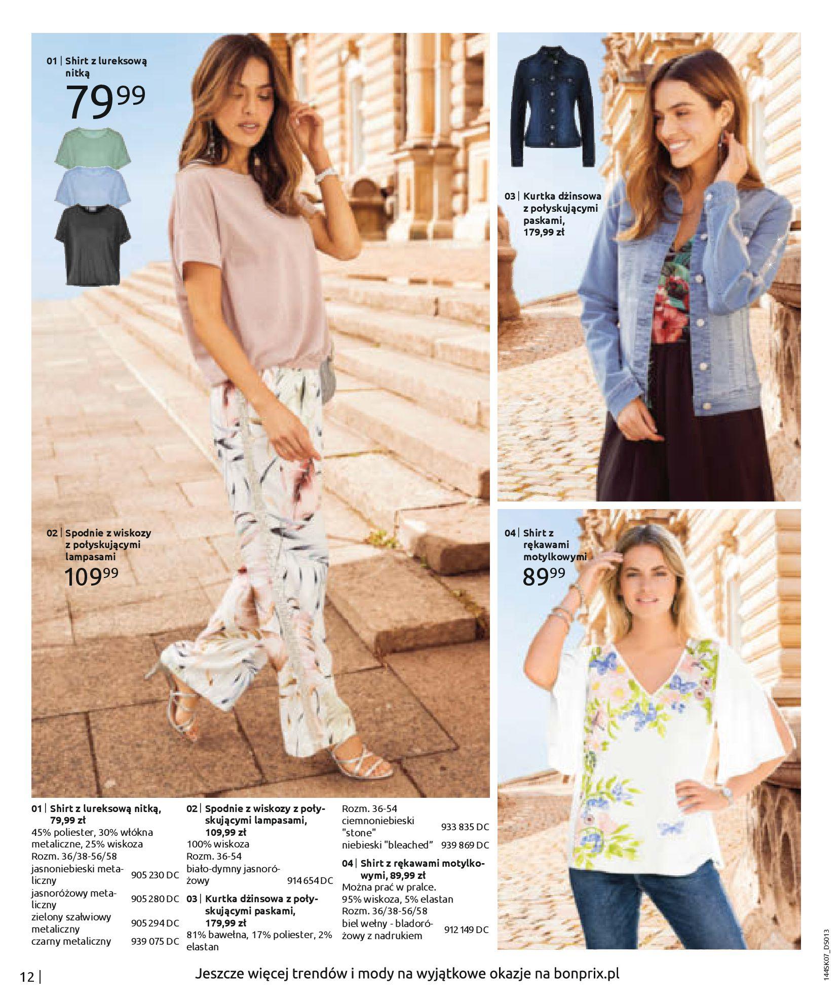 Gazetka Bonprix: Katalog Bonprix - Kwiatowe desenie 2021-09-09 page-14