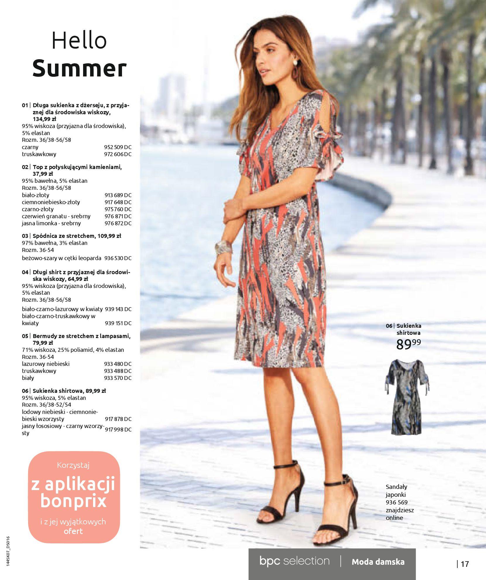 Gazetka Bonprix: Katalog Bonprix - Kwiatowe desenie 2021-09-09 page-19