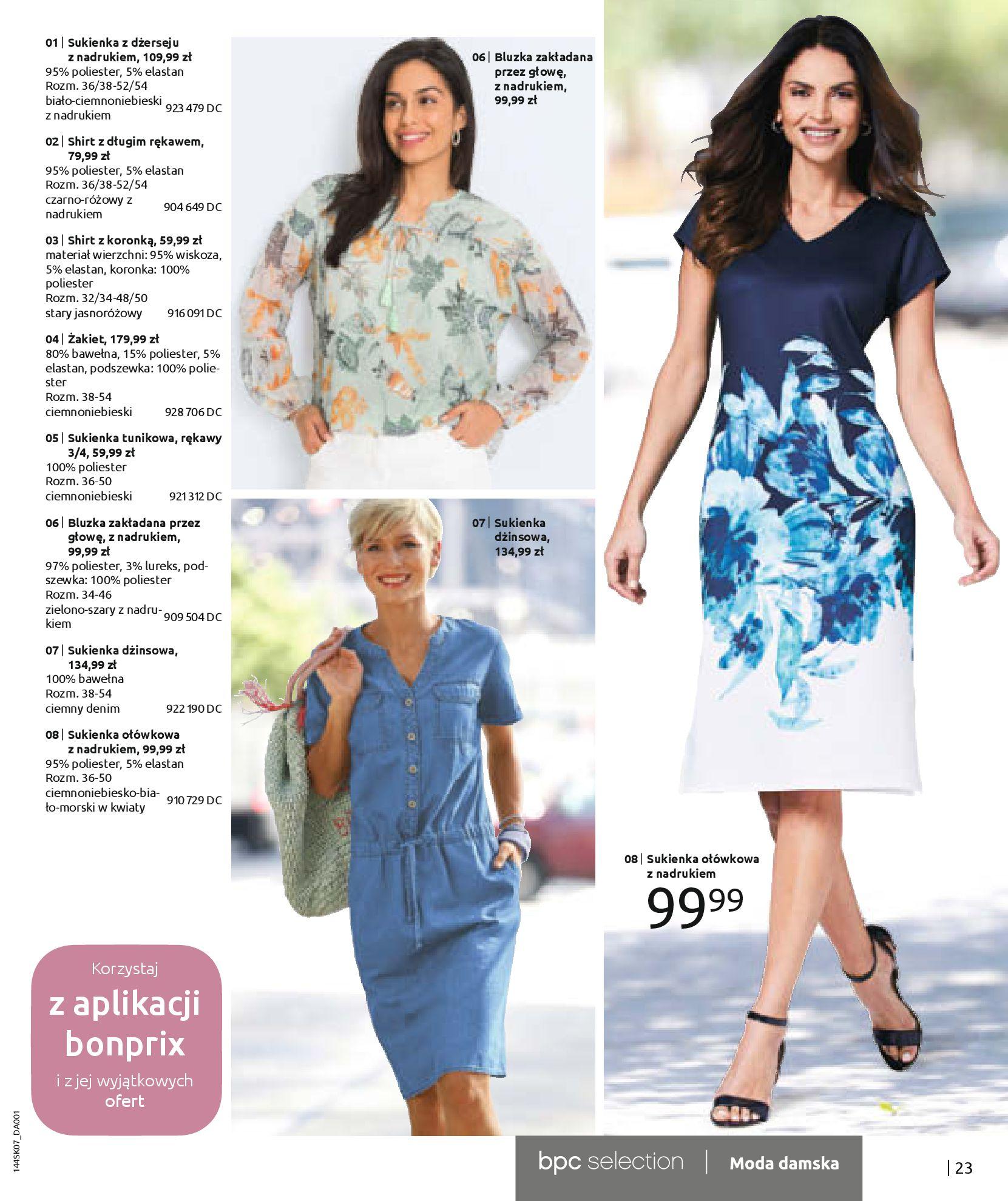 Gazetka Bonprix: Katalog Bonprix - Kwiatowe desenie 2021-09-09 page-25