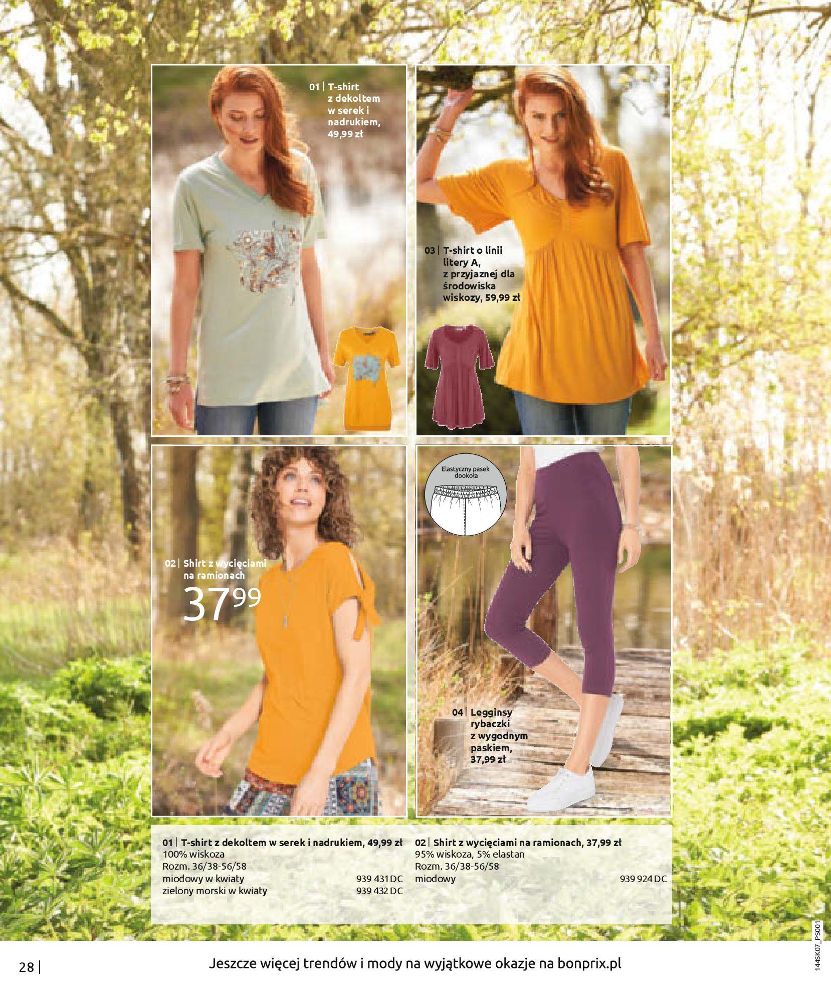 Gazetka Bonprix: Katalog Bonprix - Kwiatowe desenie 2021-09-09 page-30