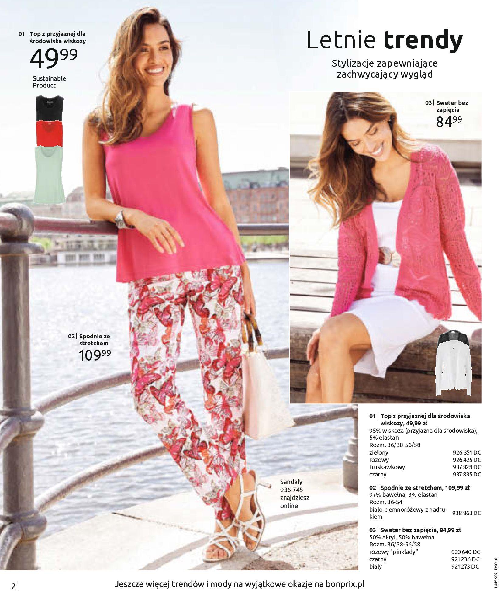 Gazetka Bonprix: Katalog Bonprix - Kwiatowe desenie 2021-09-09 page-4