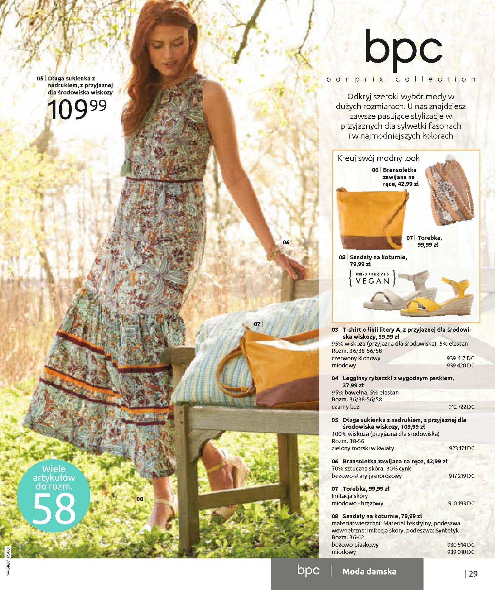 Gazetka Bonprix: Katalog Bonprix - Kwiatowe desenie 2021-09-09 page-31