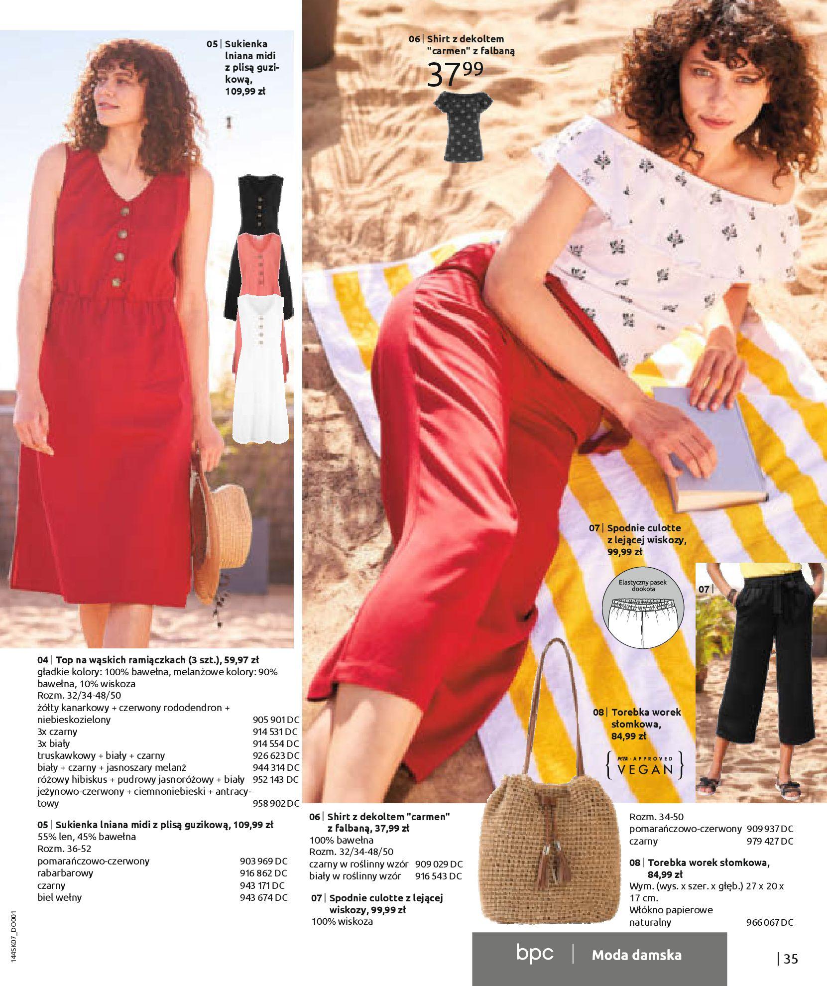 Gazetka Bonprix: Katalog Bonprix - Kwiatowe desenie 2021-09-09 page-37