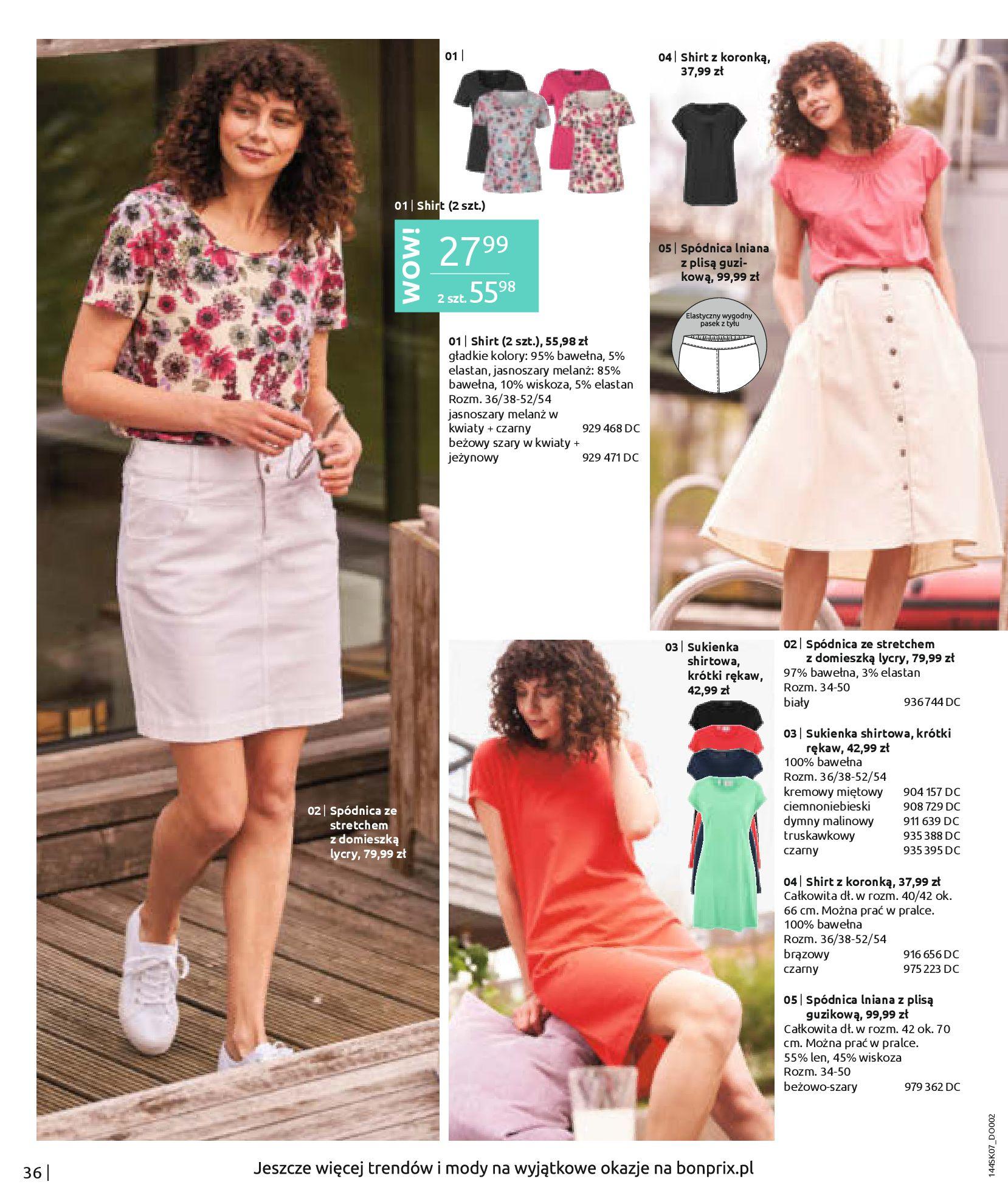 Gazetka Bonprix: Katalog Bonprix - Kwiatowe desenie 2021-09-09 page-38