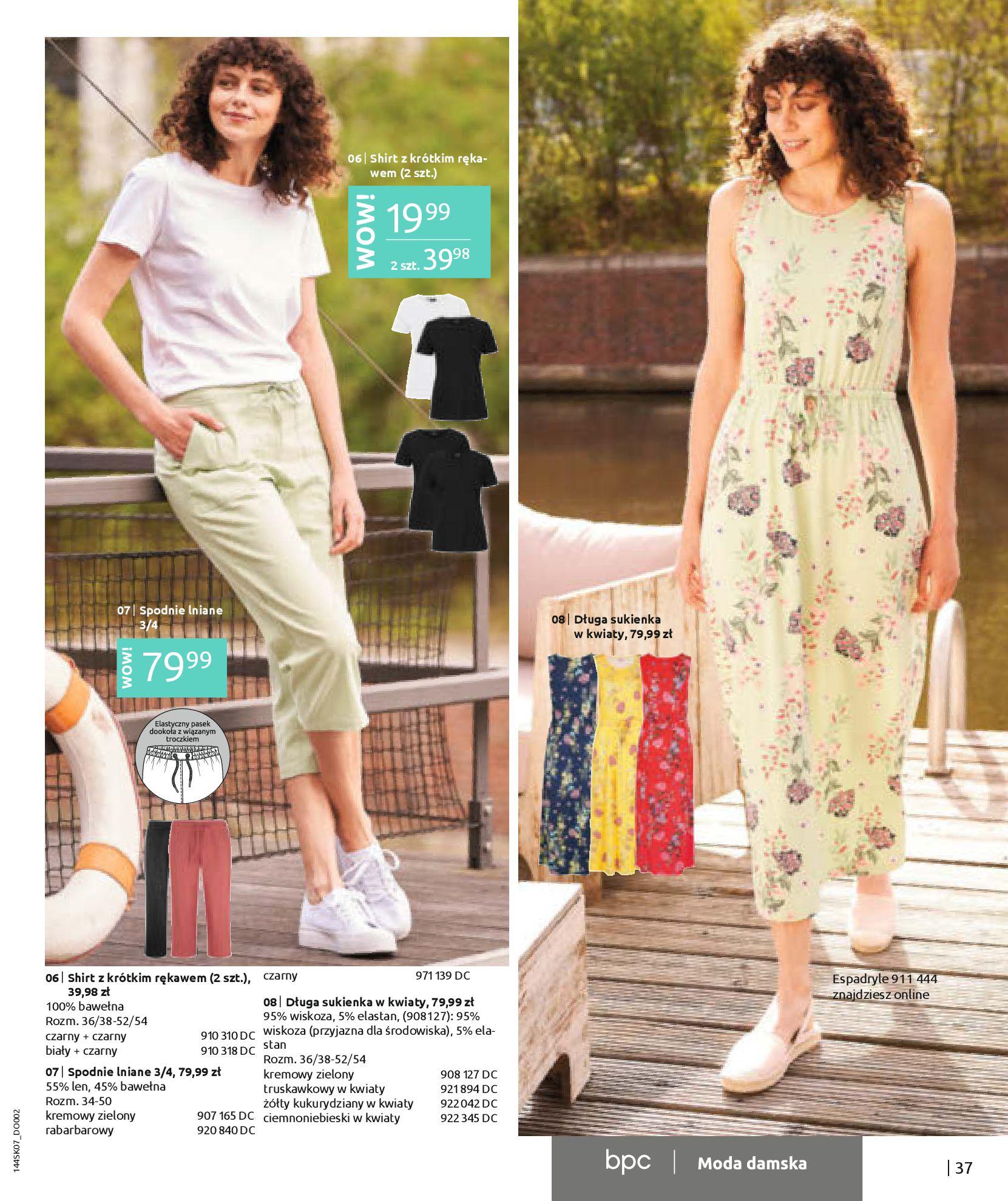 Gazetka Bonprix: Katalog Bonprix - Kwiatowe desenie 2021-09-09 page-39