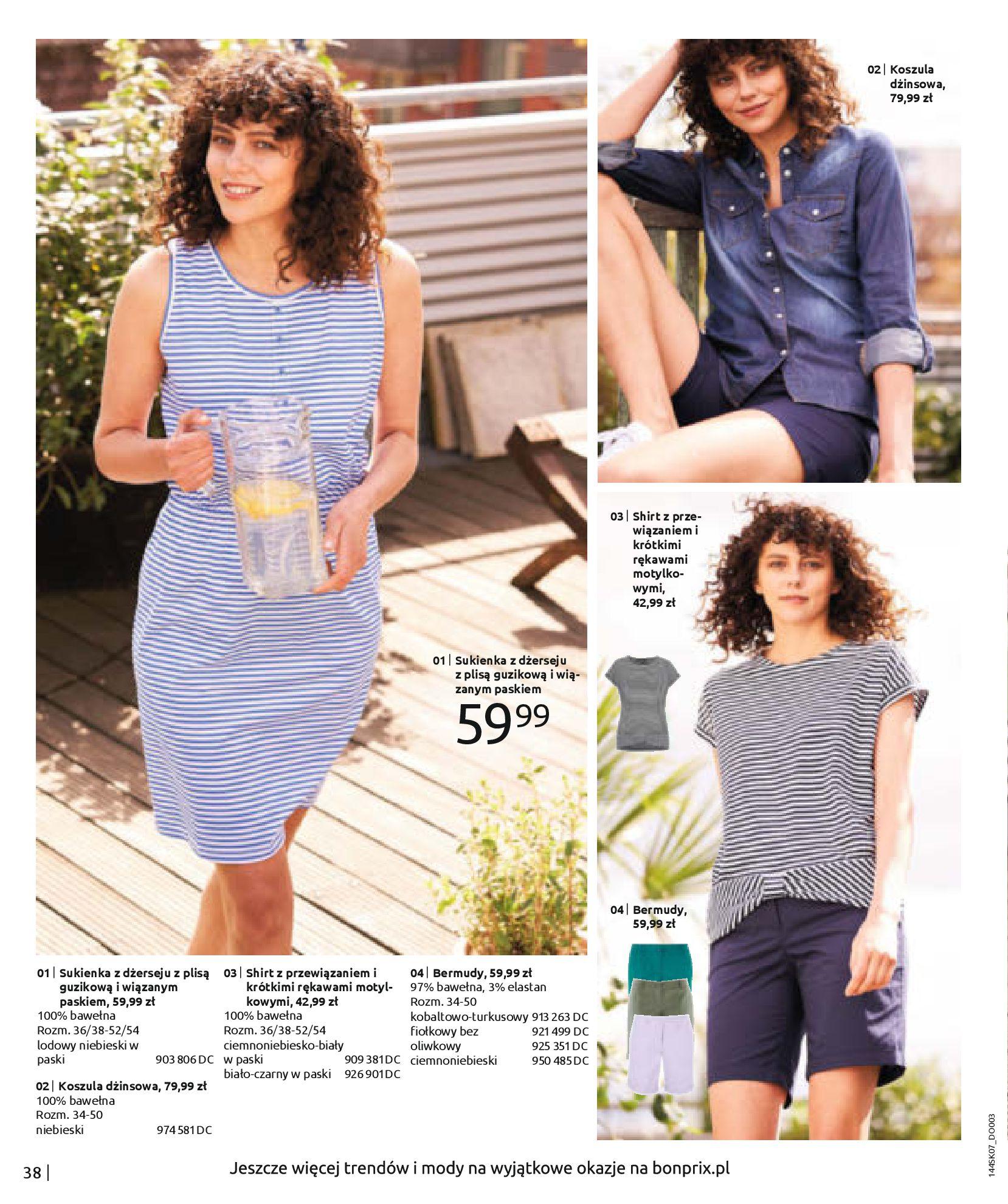 Gazetka Bonprix: Katalog Bonprix - Kwiatowe desenie 2021-09-09 page-40
