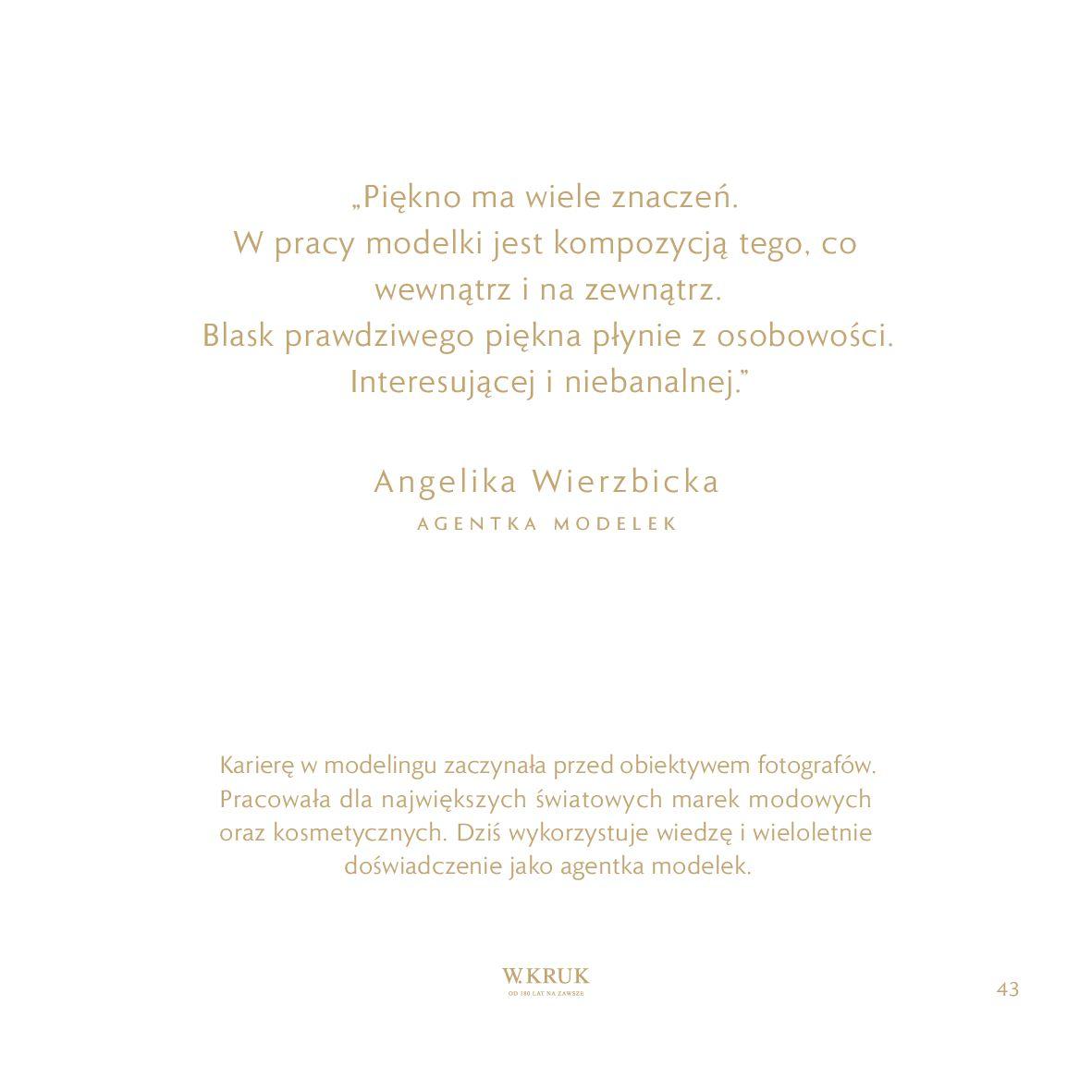 Gazetka W. KRUK: Katalog - Kolekcja Blask 2021-02-17 page-44