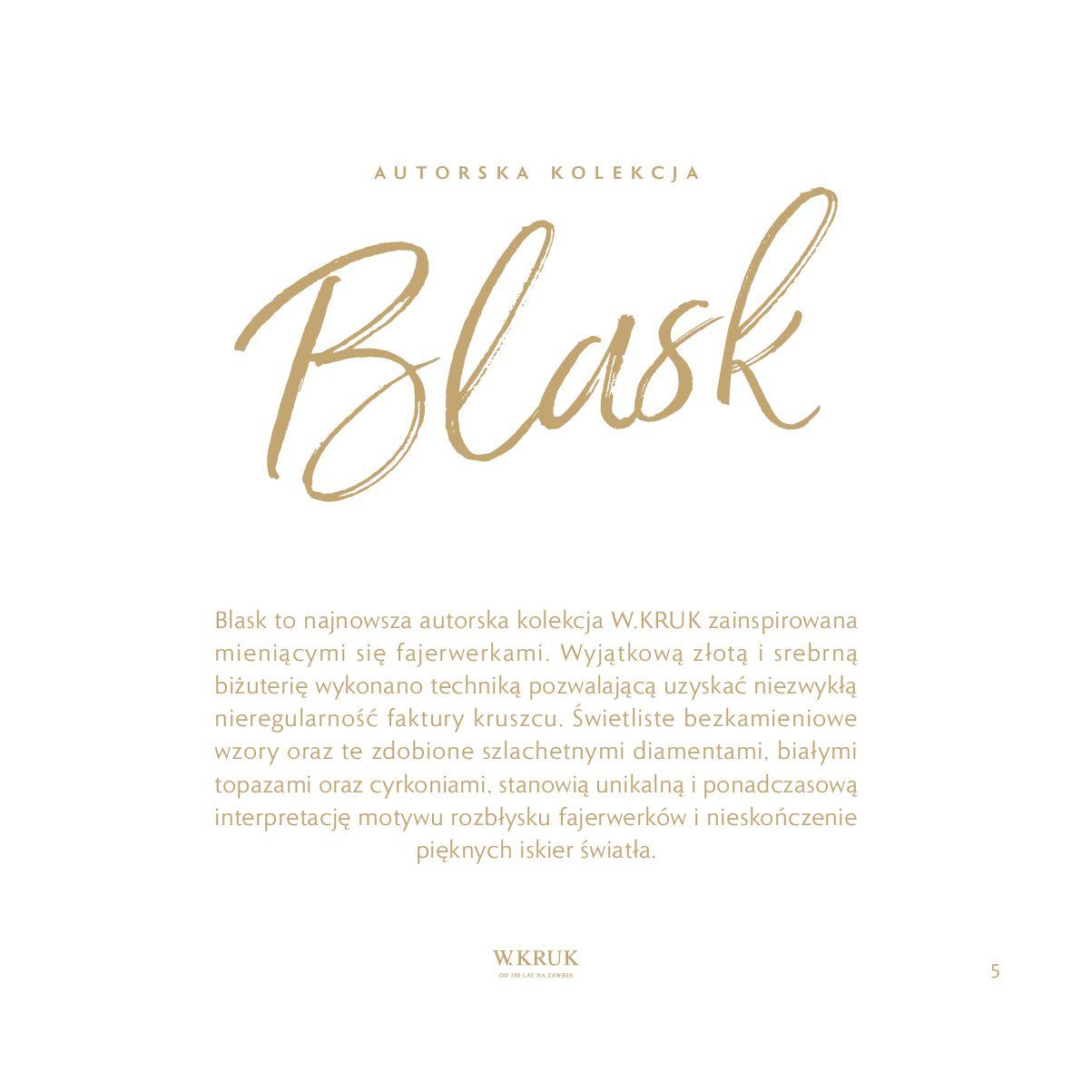 Gazetka W. KRUK: Katalog - Kolekcja Blask 2021-02-17 page-6